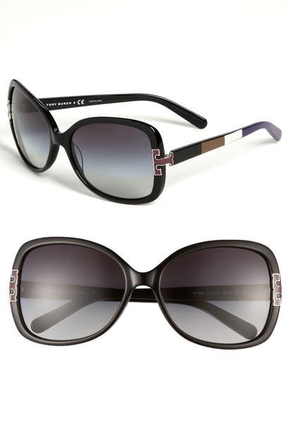 Tory Burch Sunglasses 59MM OVERSIZED SUNGLASSES -