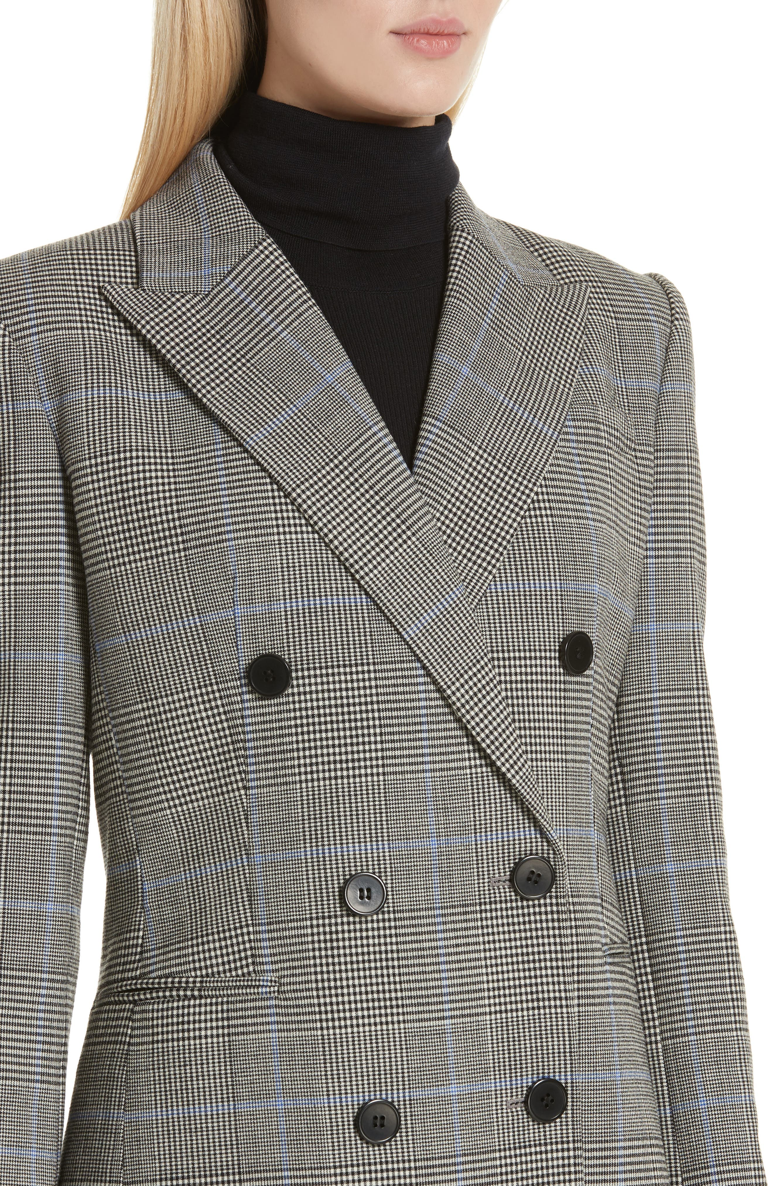 THEORY,                             Portland Plaid Power Jacket,                             Alternate thumbnail 4, color,                             020
