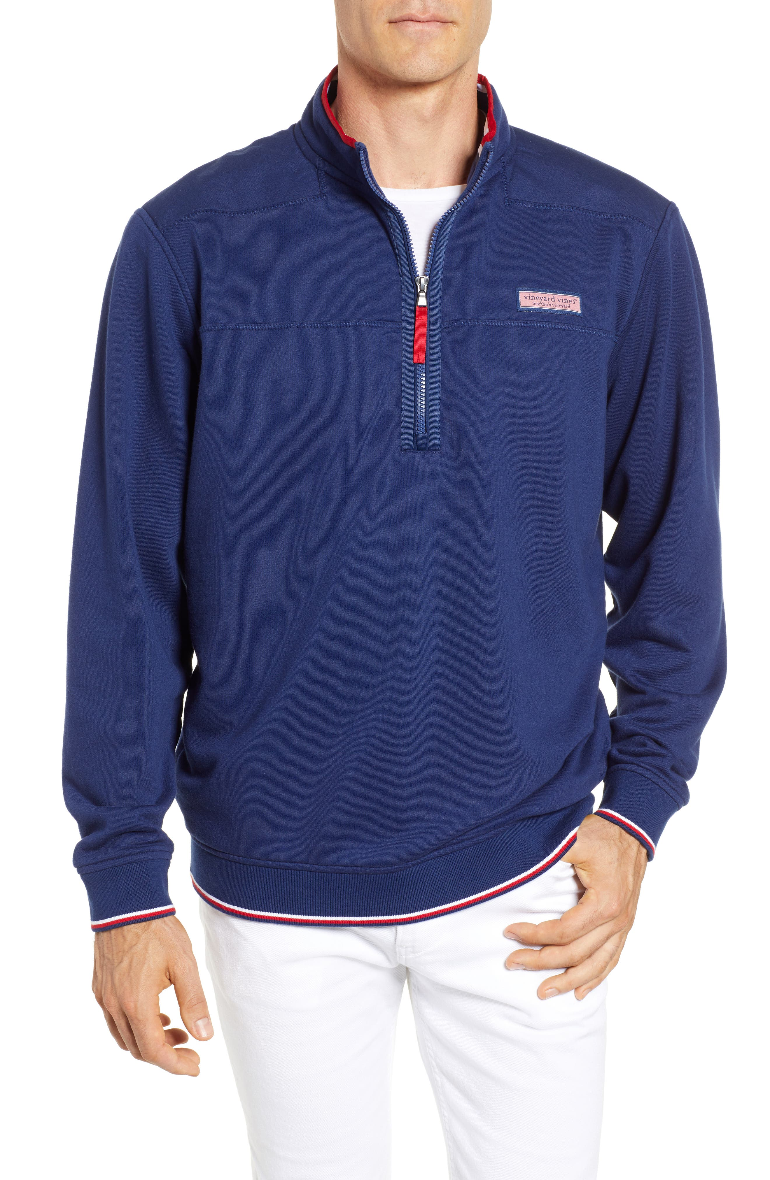 USA Shep Pullover,                         Main,                         color, DEEP BAY