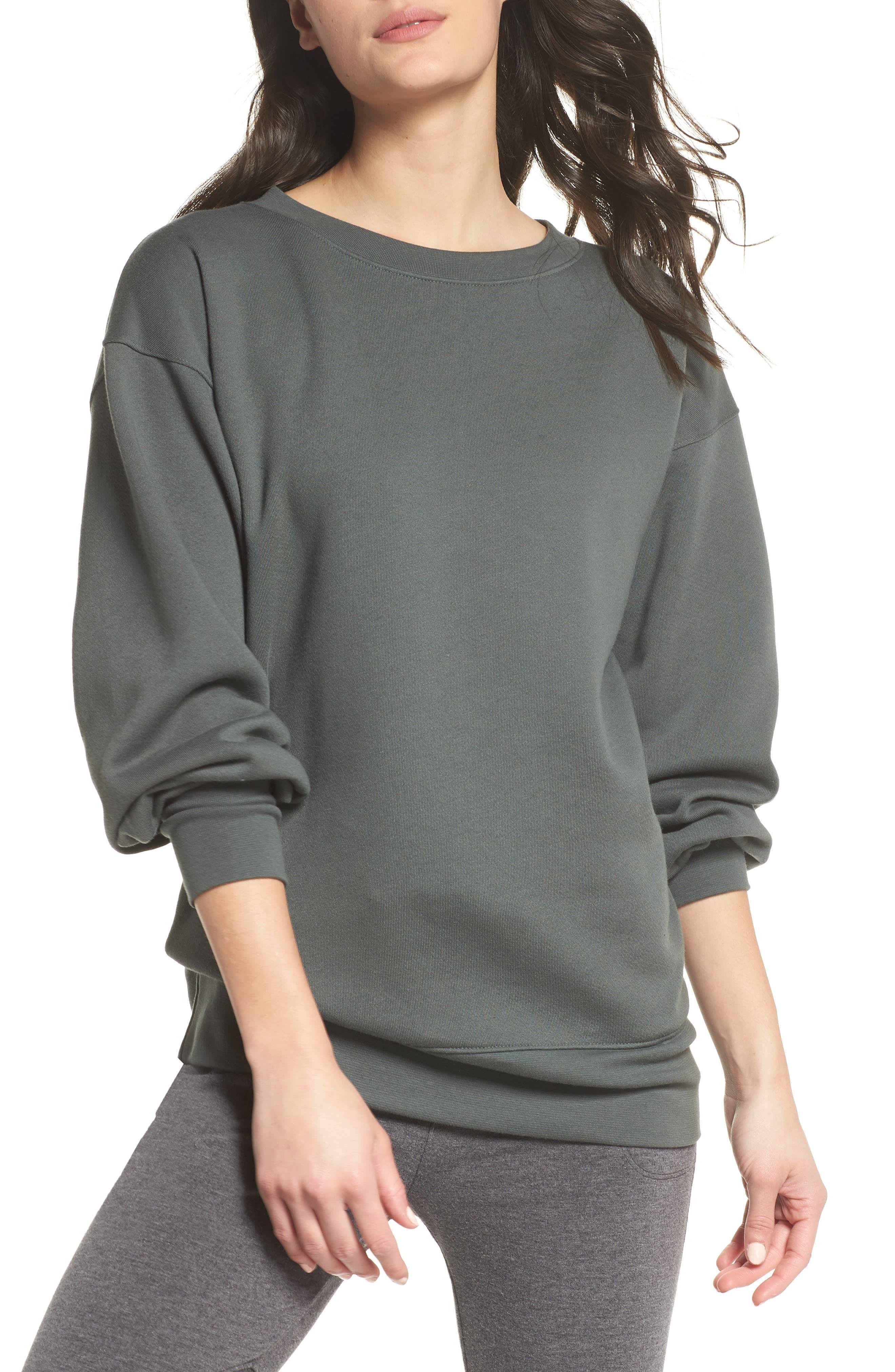 Boxy Oversize Sweatshirt,                             Main thumbnail 2, color,