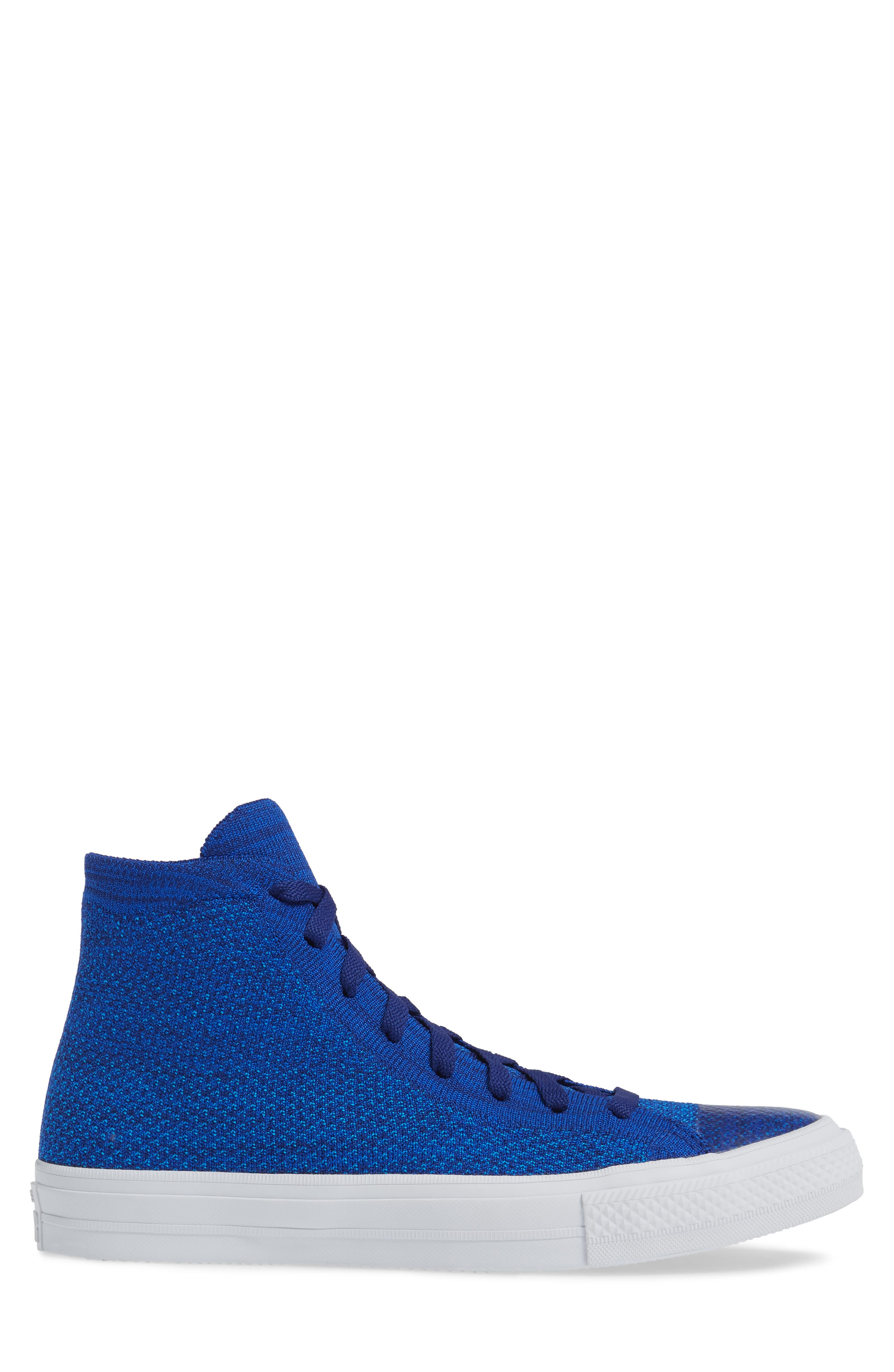 Chuck Taylor<sup>®</sup> All Star<sup>®</sup> Flyknit Hi Sneaker,                             Alternate thumbnail 17, color,