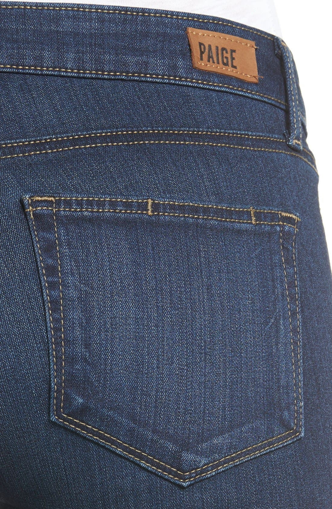 Transcend Skyline Skinny Jeans,                             Alternate thumbnail 6, color,                             400