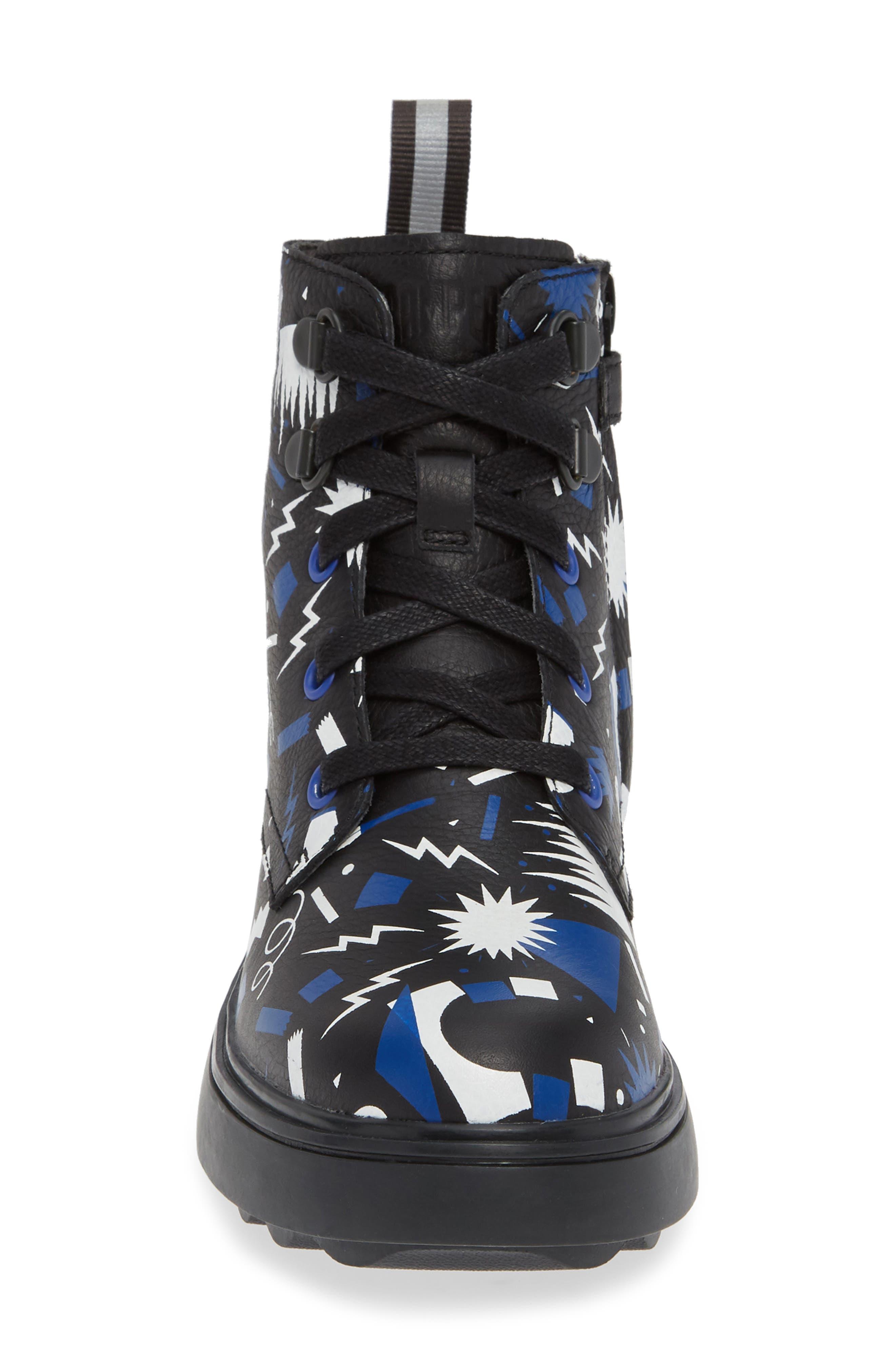 Norte Boot,                             Alternate thumbnail 4, color,                             BLACK MULTI