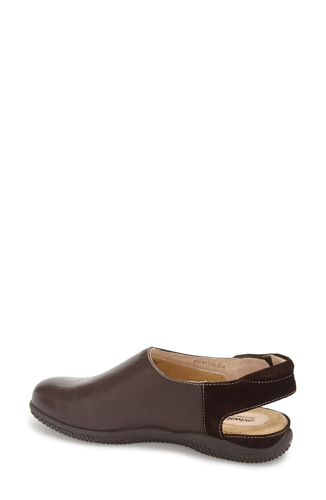 'Holland' Slingback Clog,                             Alternate thumbnail 4, color,                             214