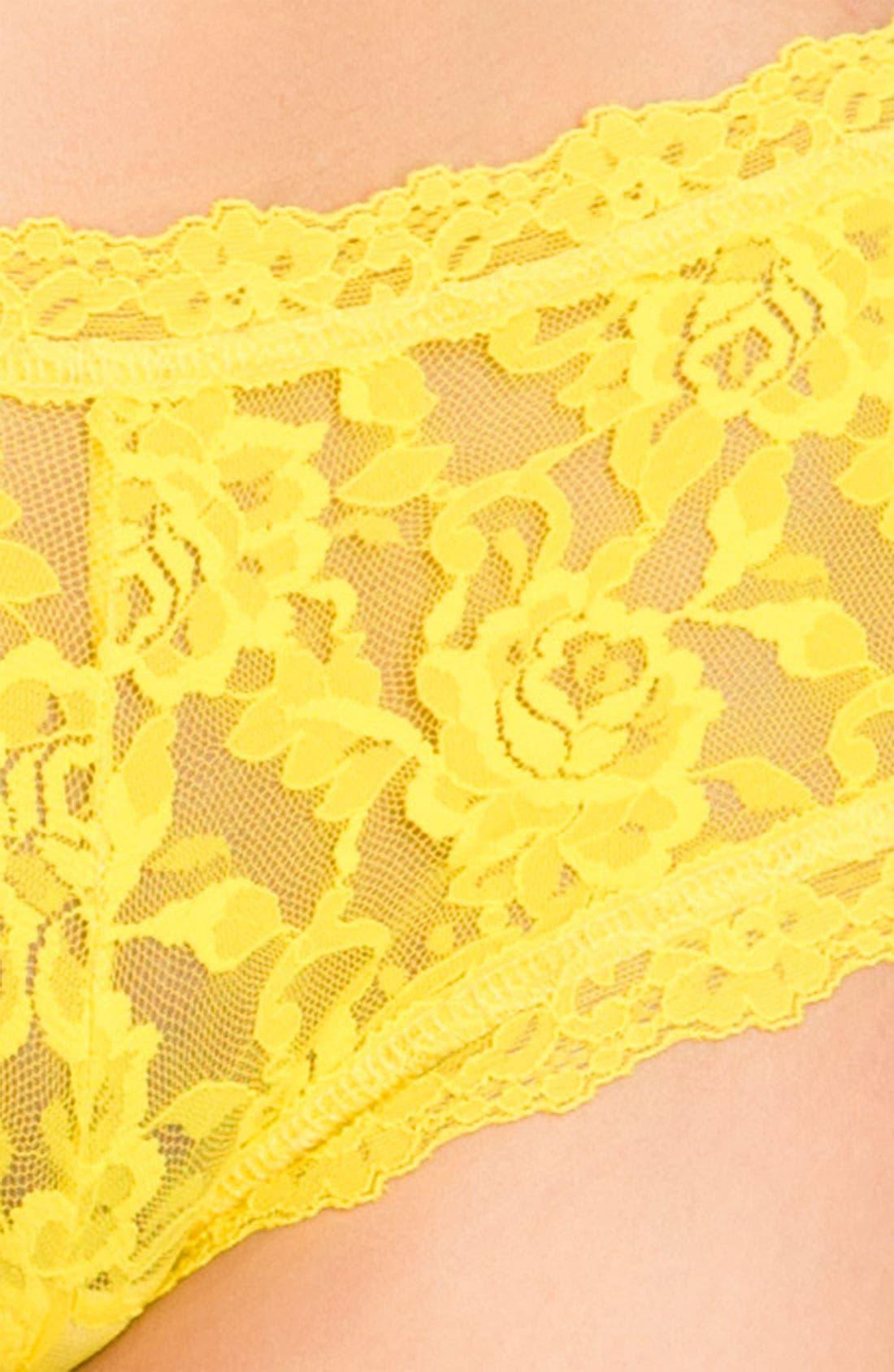 'Signature Lace' Boyshorts,                             Alternate thumbnail 349, color,