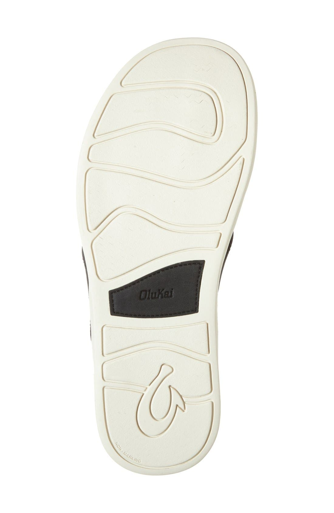OLUKAI,                             'Holona' Flip Flop,                             Alternate thumbnail 4, color,                             001