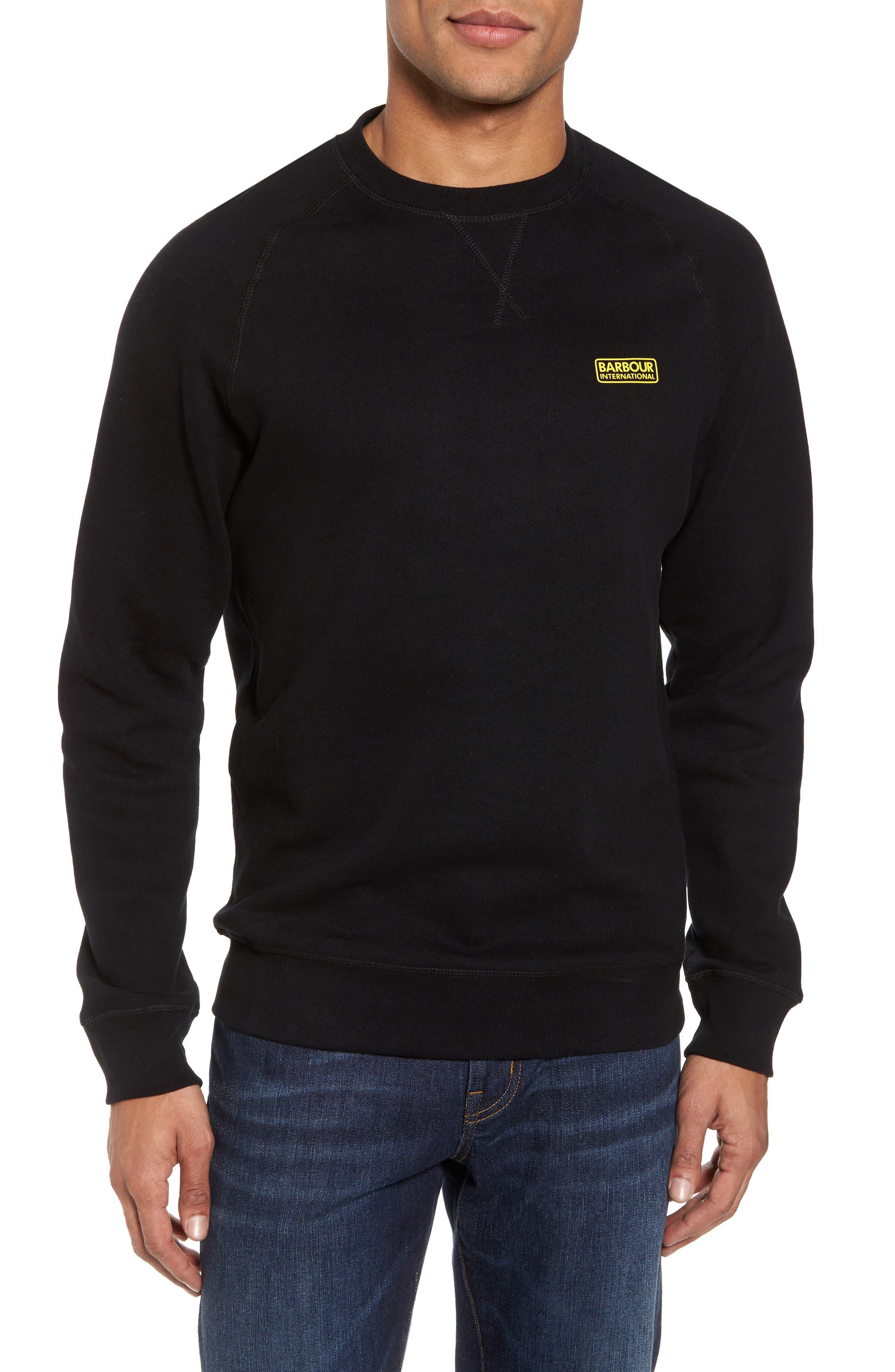 Logo Graphic Essential Sweatshirt,                         Main,                         color, 001