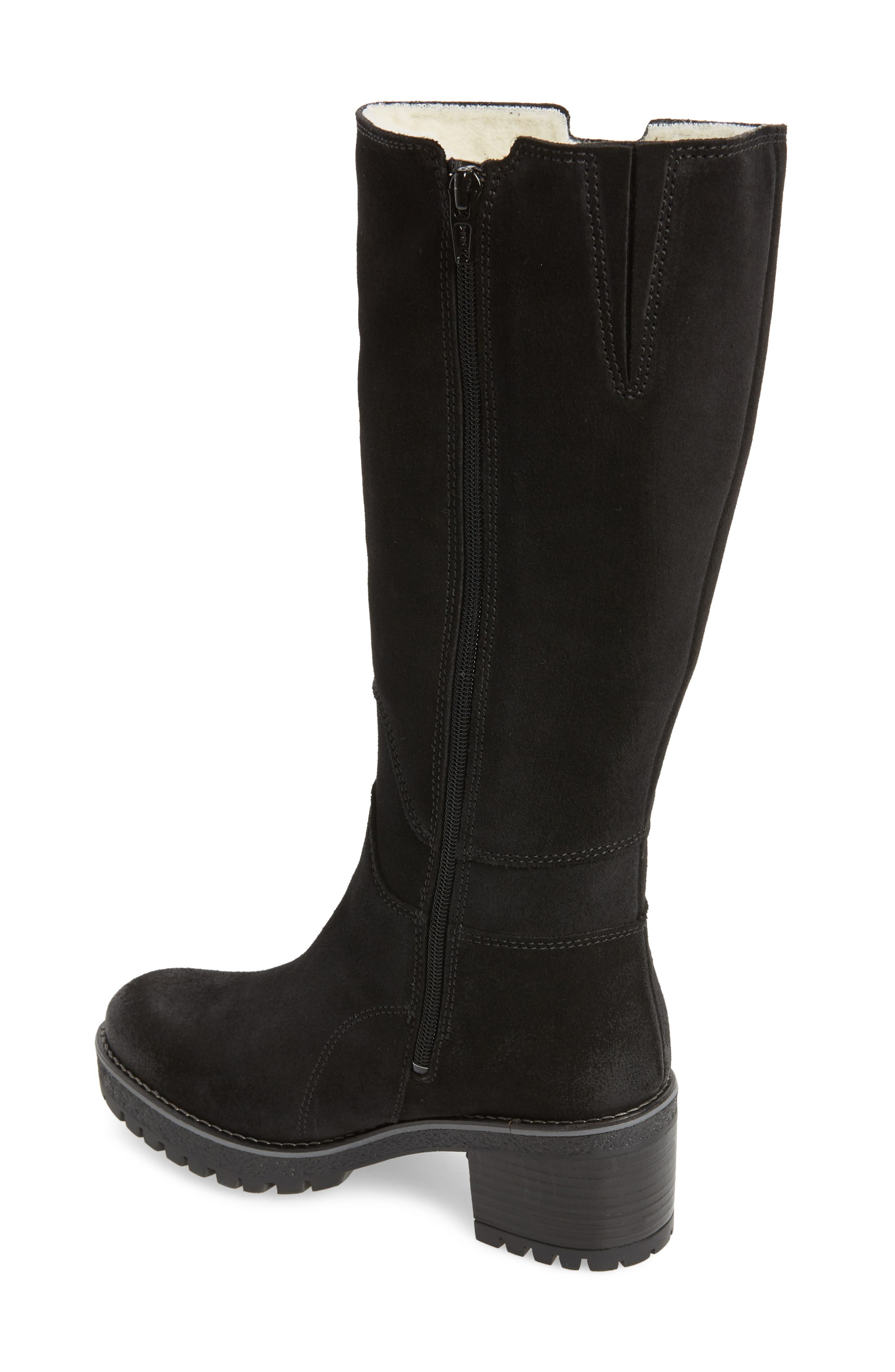 Major Waterproof Boot,                             Alternate thumbnail 2, color,                             BLACK SUEDE