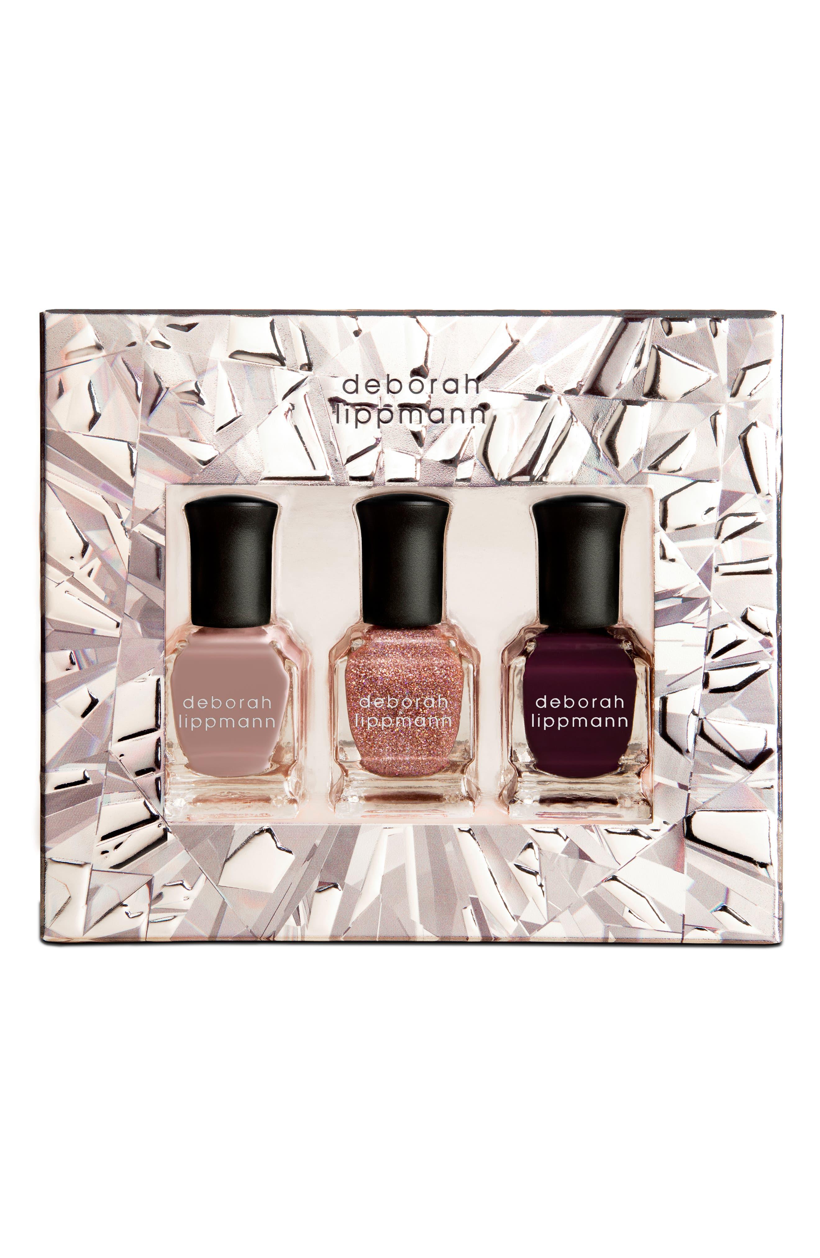 DEBORAH LIPPMANN Color on Glass Nail Color Set, Main, color, 000