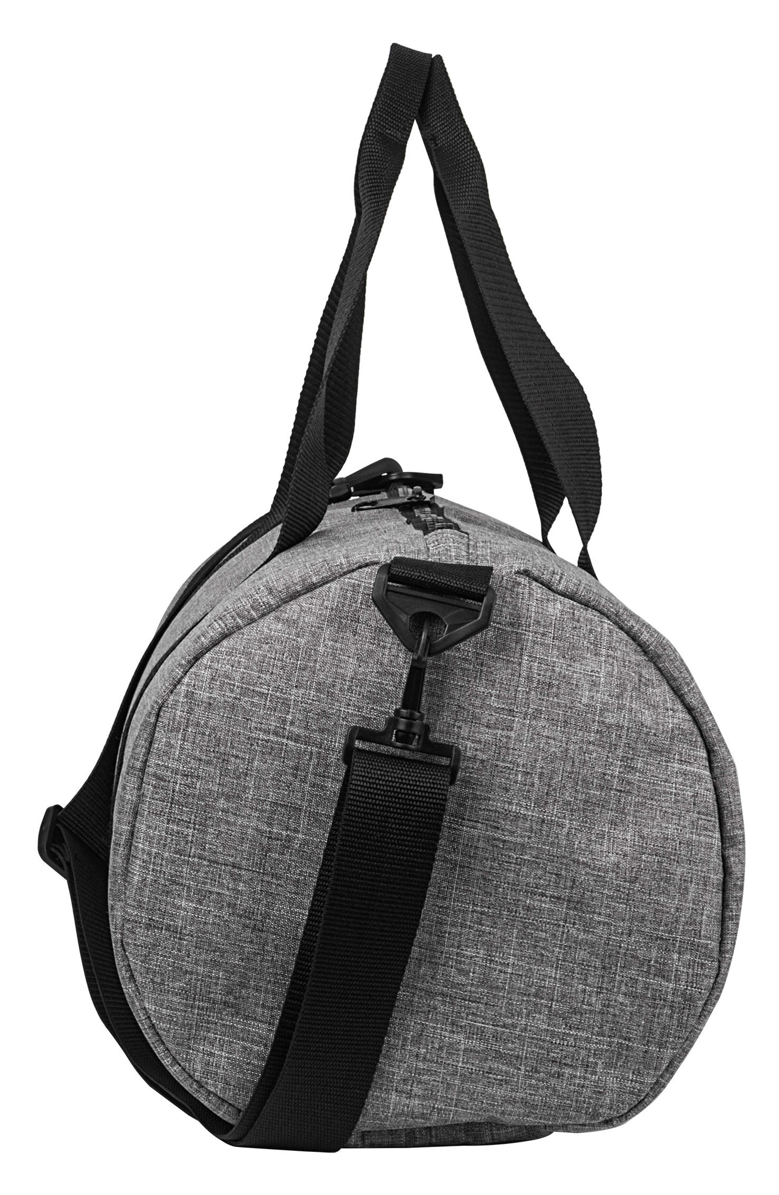 Monogram Duffel Bag,                             Alternate thumbnail 3, color,                             GREY