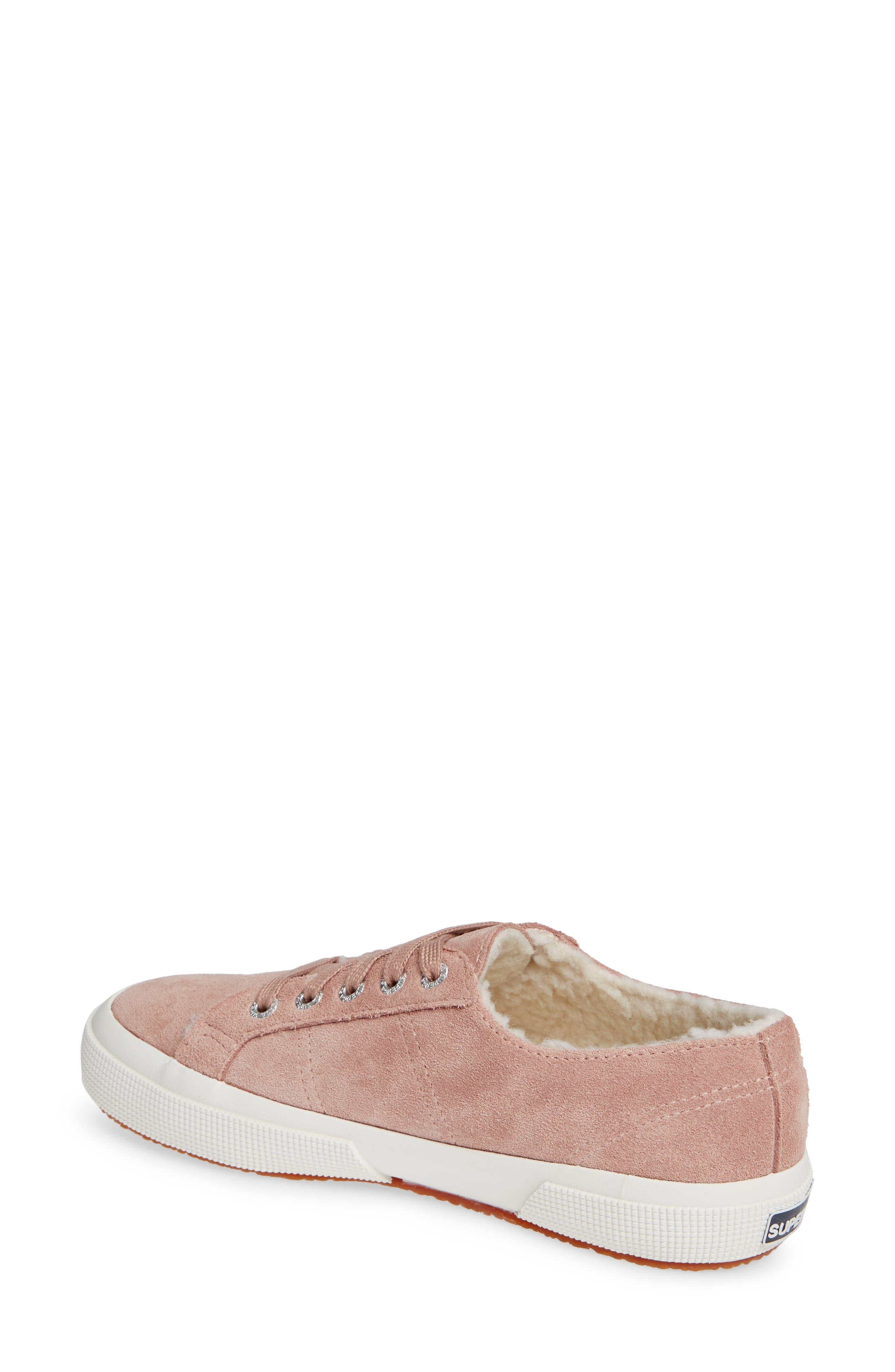 2750 Suefurw Sneaker,                             Alternate thumbnail 2, color,                             ROSE SUEDE