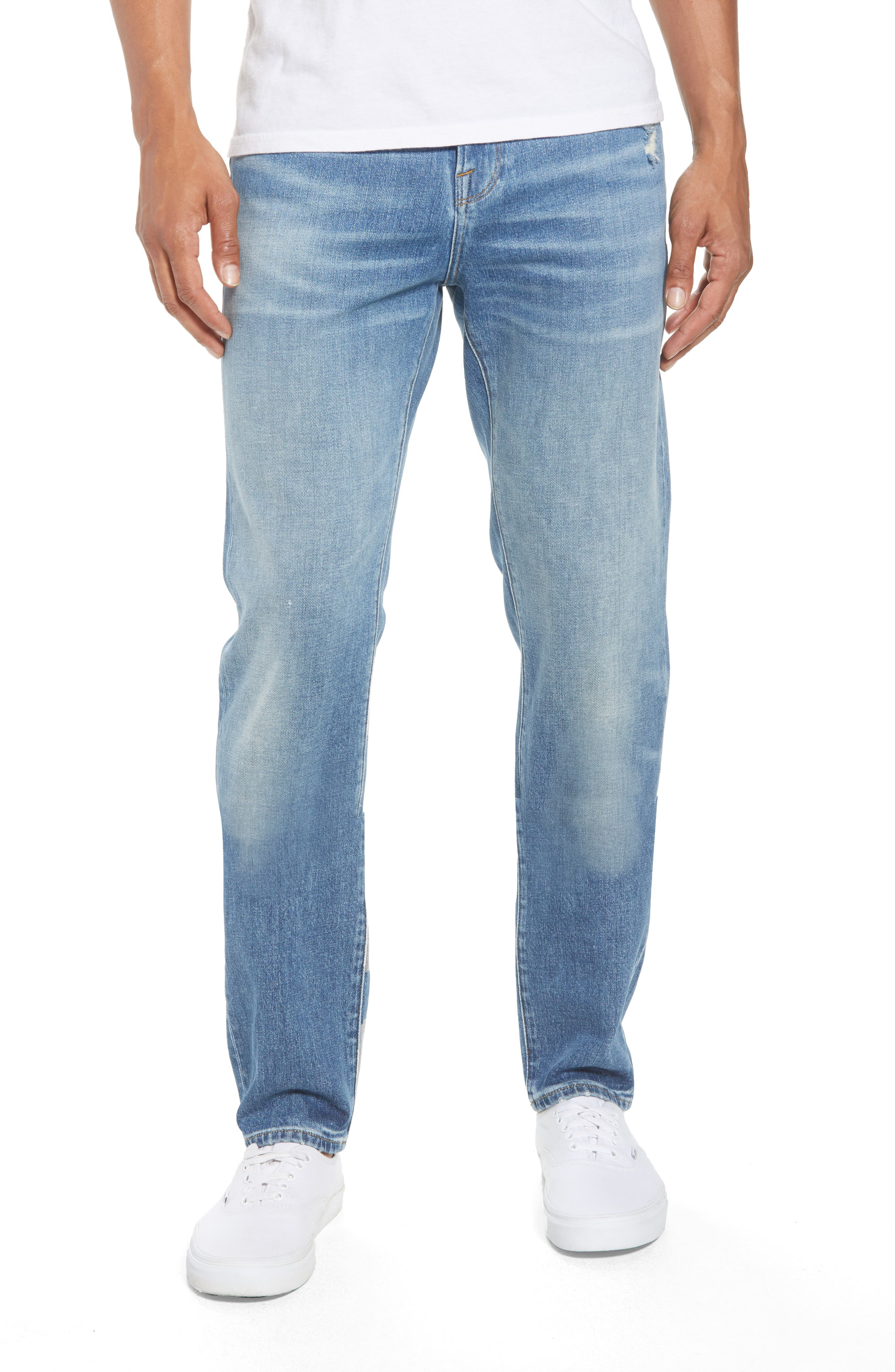 L'Homme Skinny Jeans,                             Main thumbnail 1, color,                             PICKNEY