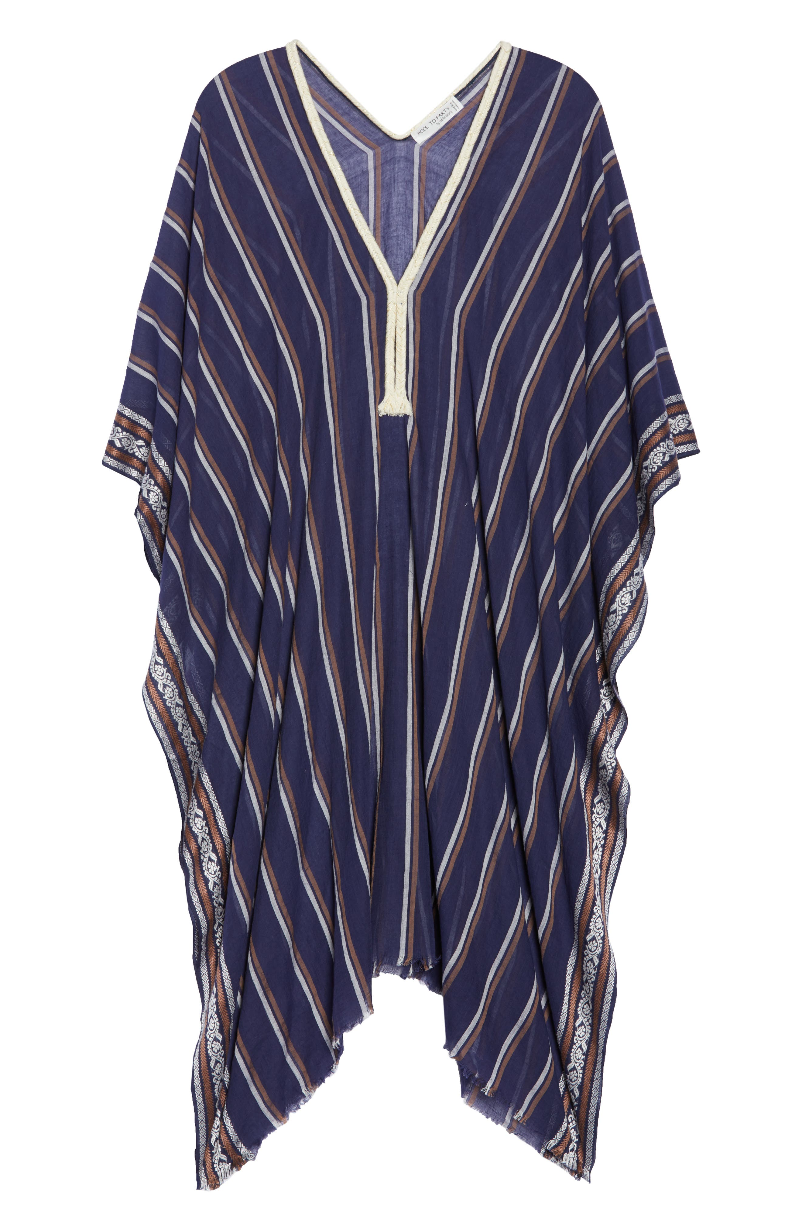 Cover-Up Tunic,                             Alternate thumbnail 6, color,                             NAVY