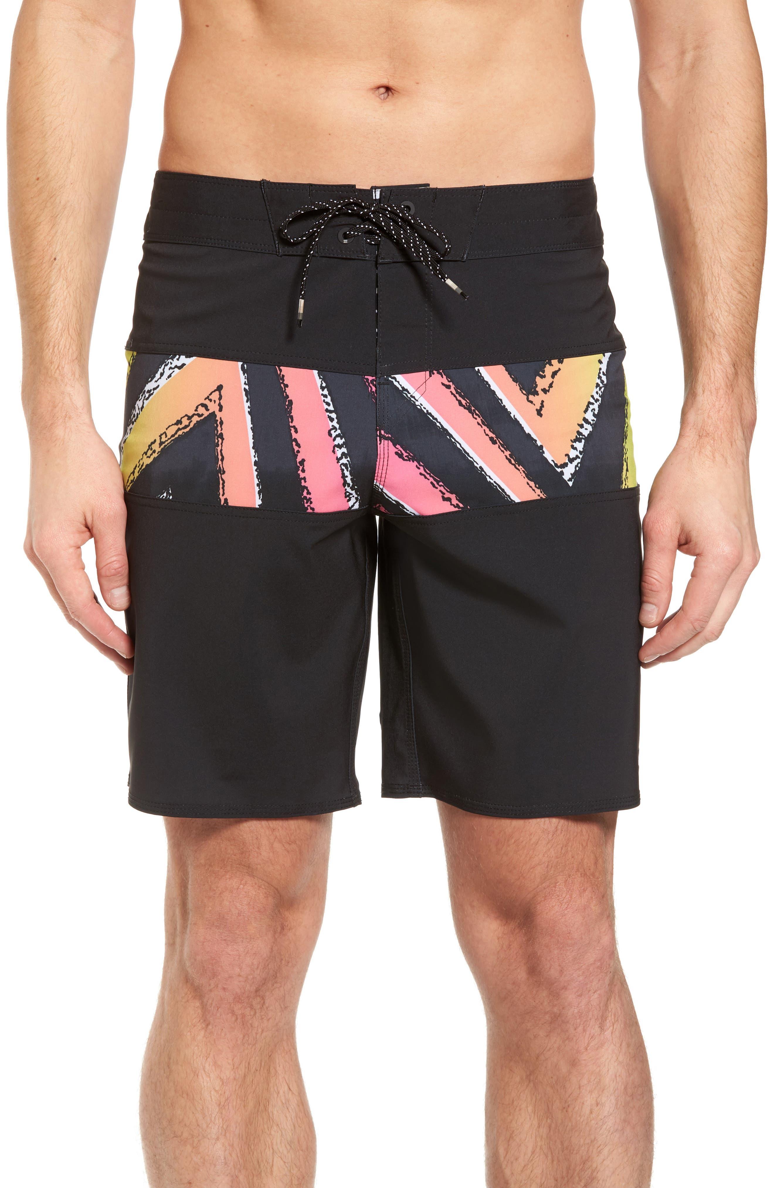 Tribong X Board Shorts,                             Main thumbnail 1, color,                             001