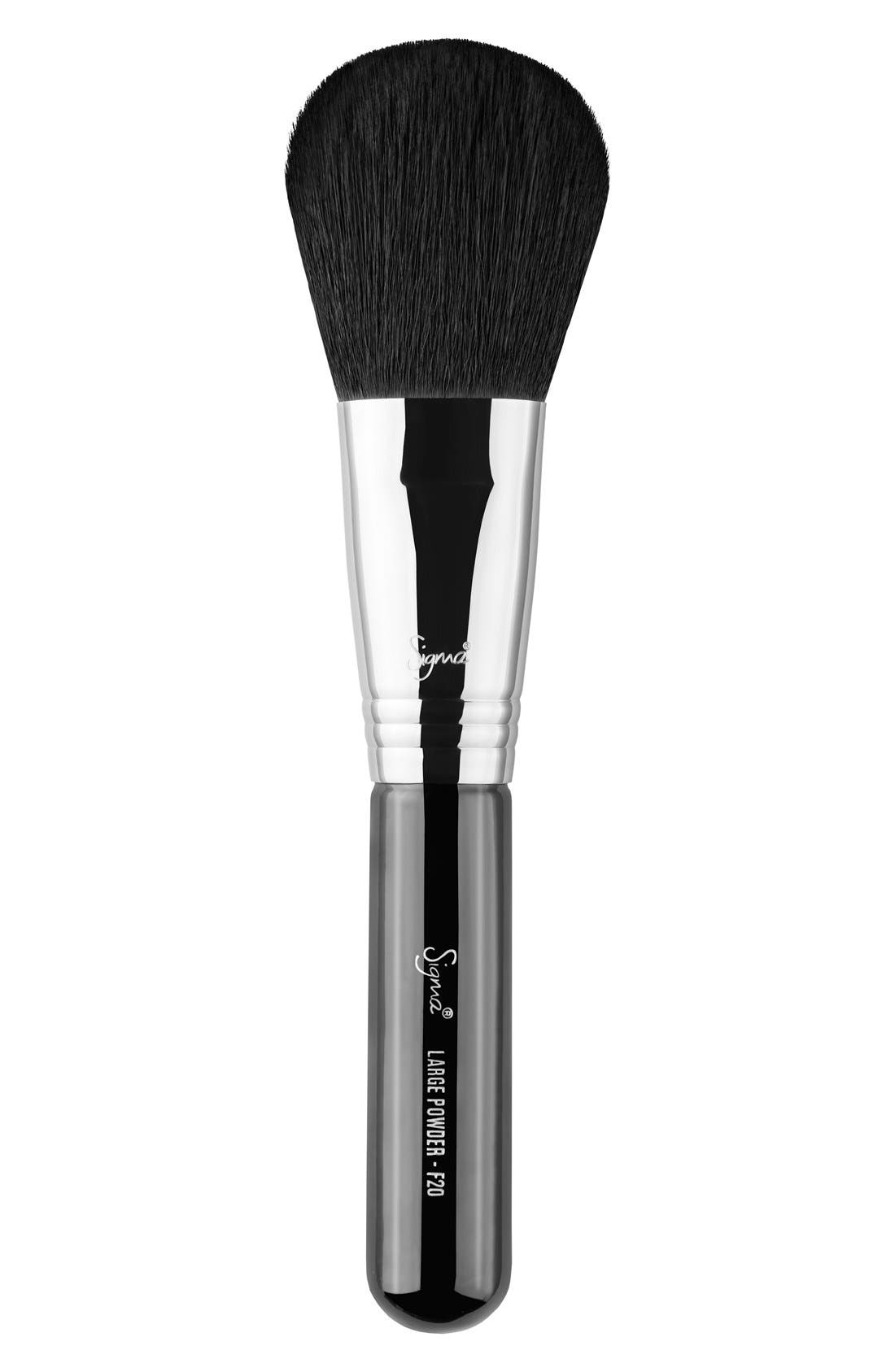 F20 Large Powder Brush,                         Main,                         color, NO COLOR