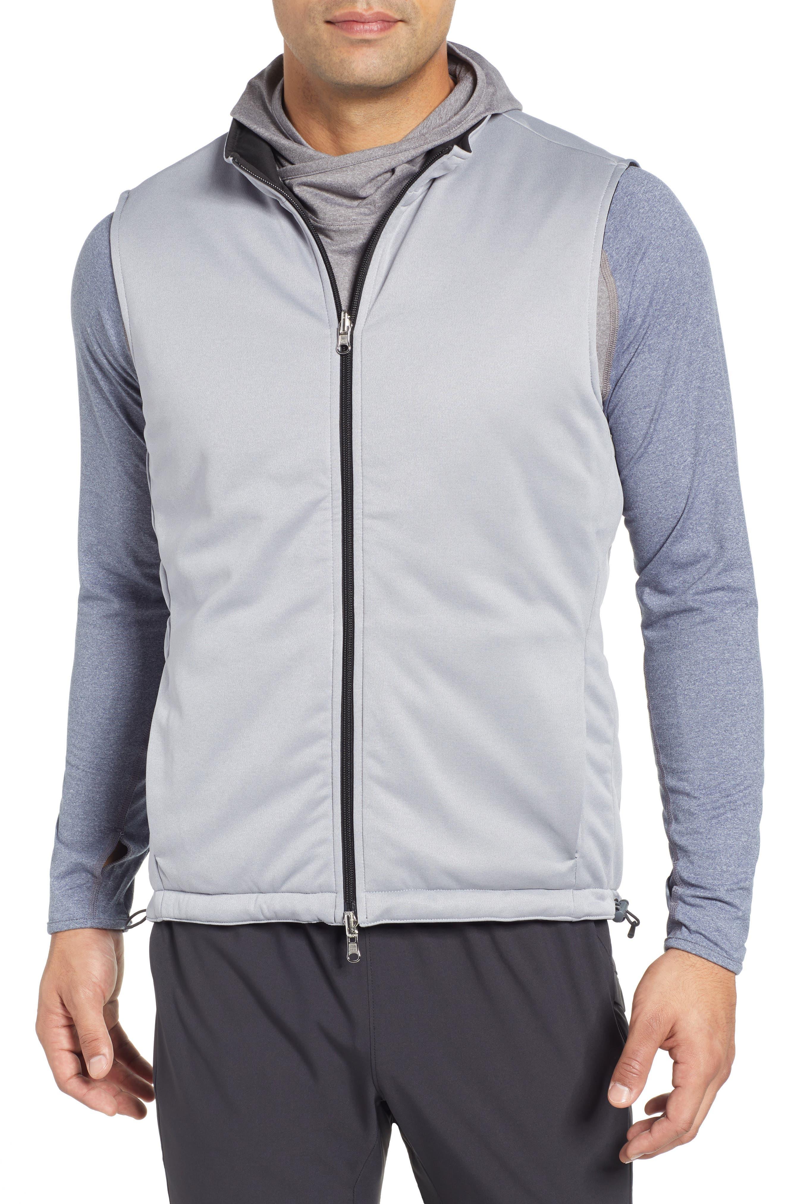 Deuce Regular Fit Reversible Quilted Vest,                             Alternate thumbnail 2, color,                             001