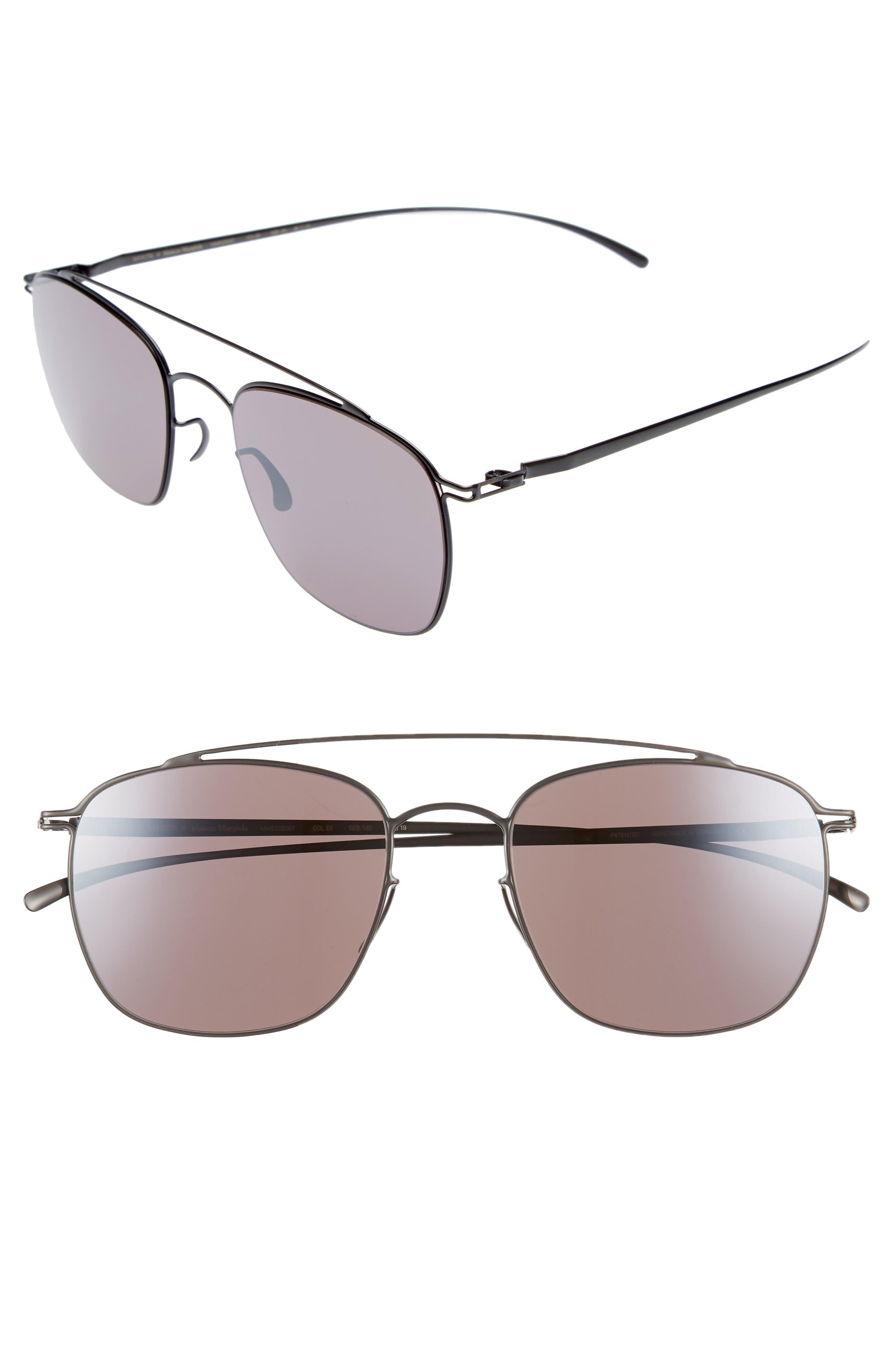 MMESSE007 51mm Aviator Sunglasses,                         Main,                         color,
