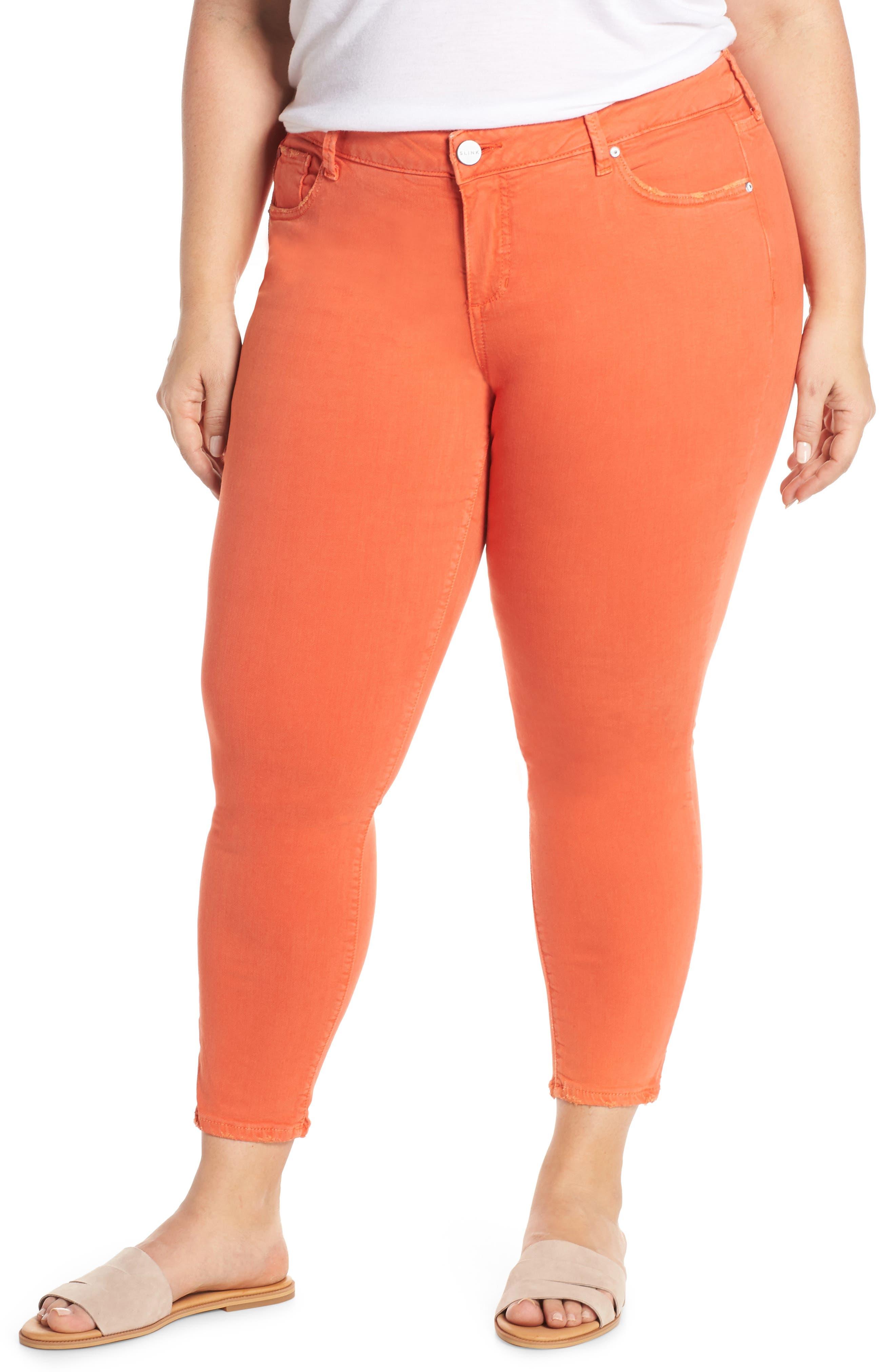 Plus Women's Slink Jeans Ankle Skinny Jeans