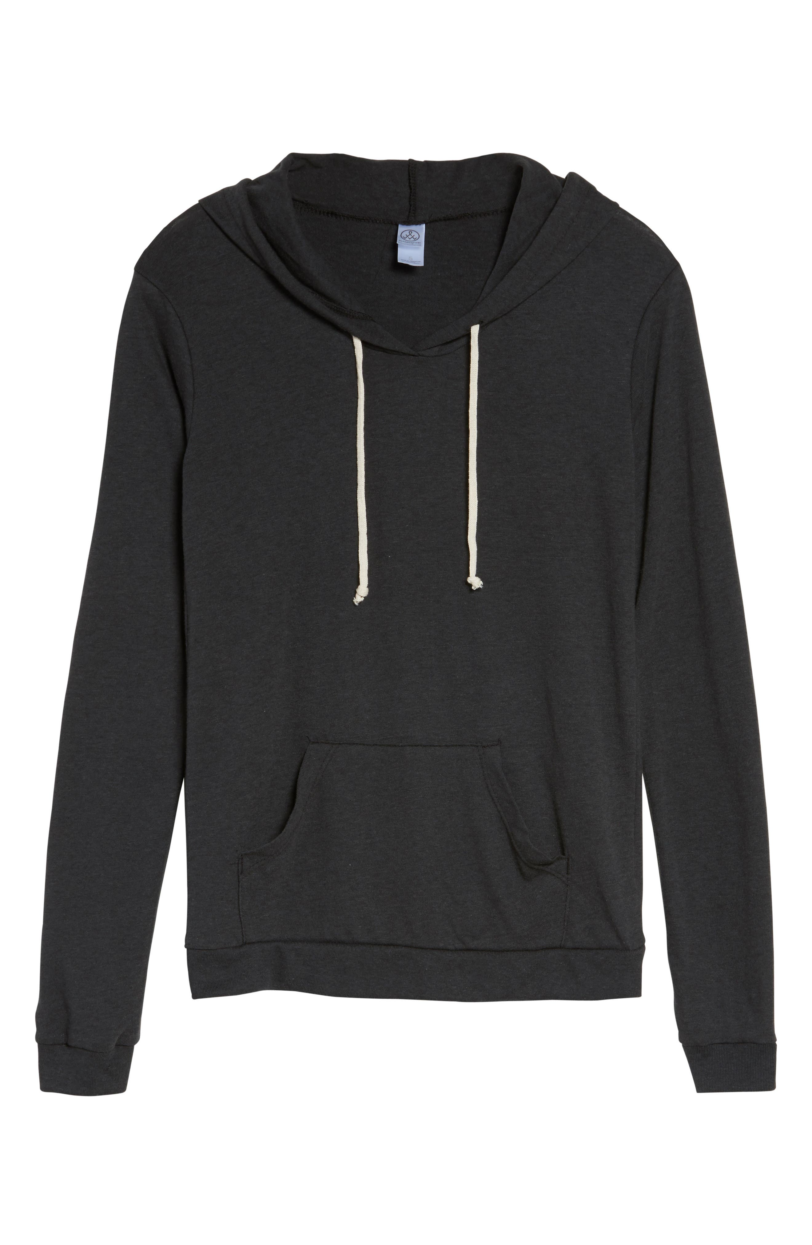 Classic Pullover Hoodie,                             Alternate thumbnail 6, color,                             001