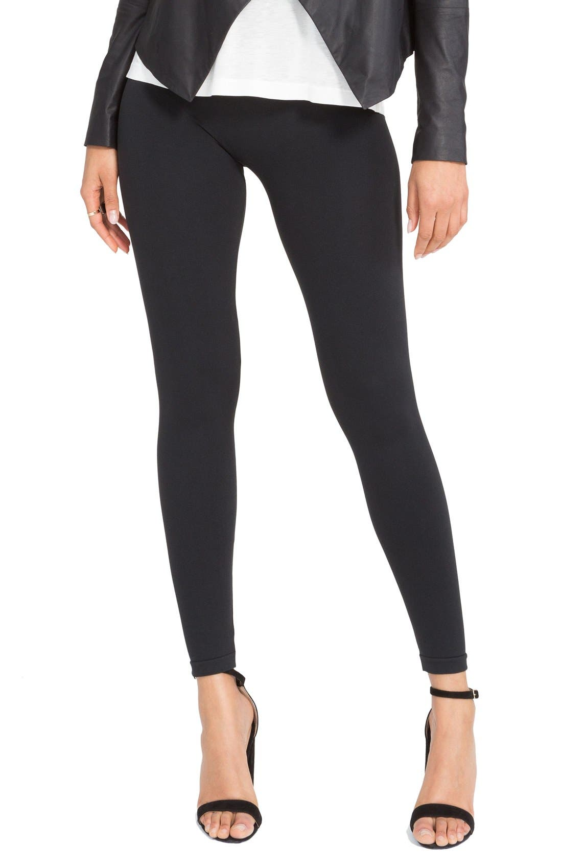 Look at Me Now' Seamless Leggings,                             Main thumbnail 1, color,                             OLIVE CROSSHATCH