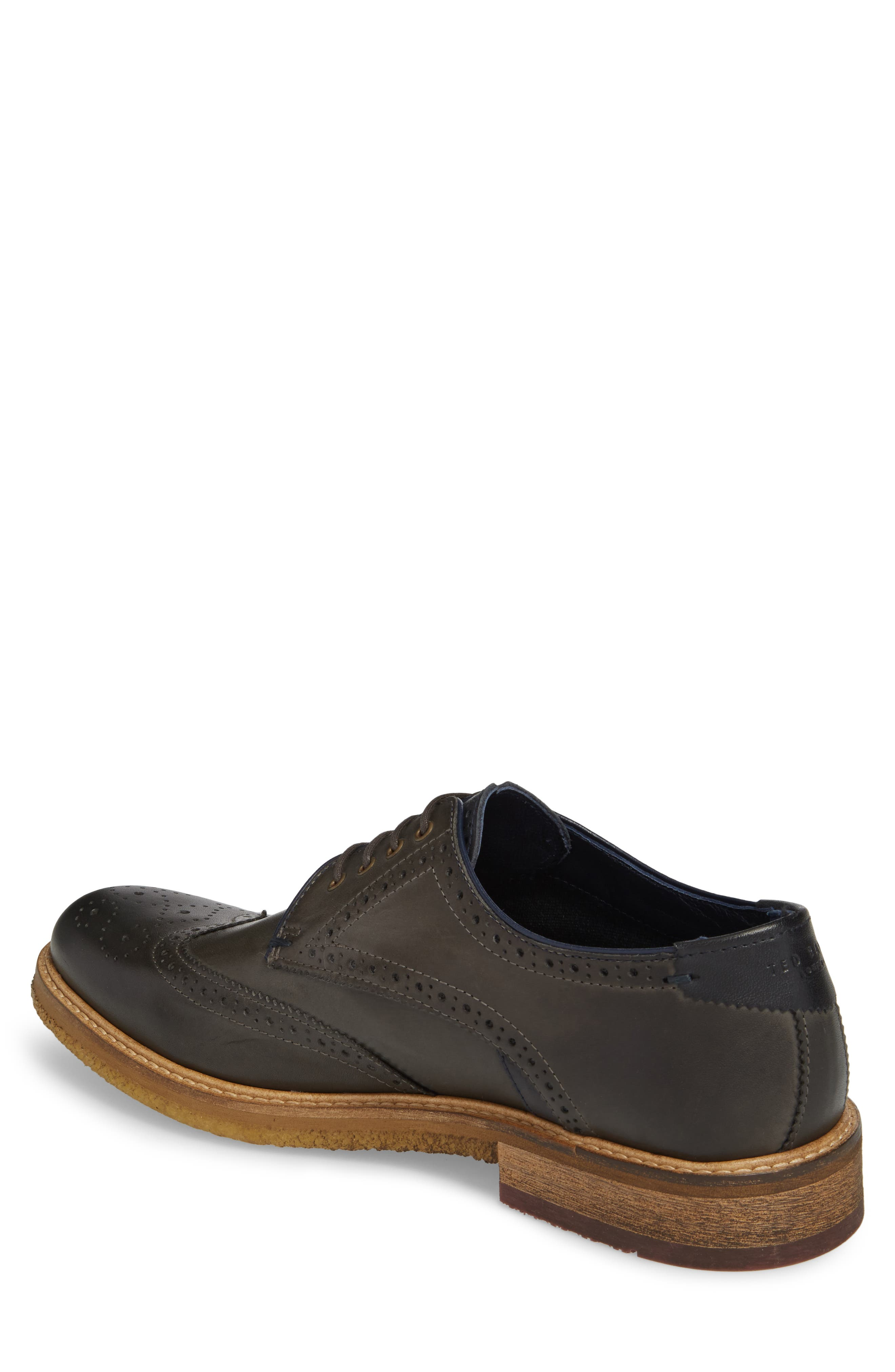 TED BAKER LONDON,                             Prycce Wingtip Derby,                             Alternate thumbnail 2, color,                             031