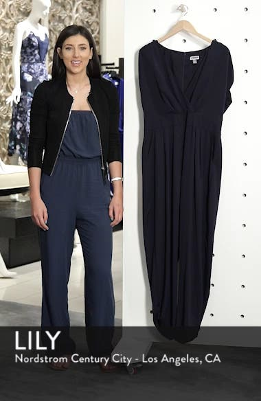 Ruched Ankle Jumpsuit, sales video thumbnail