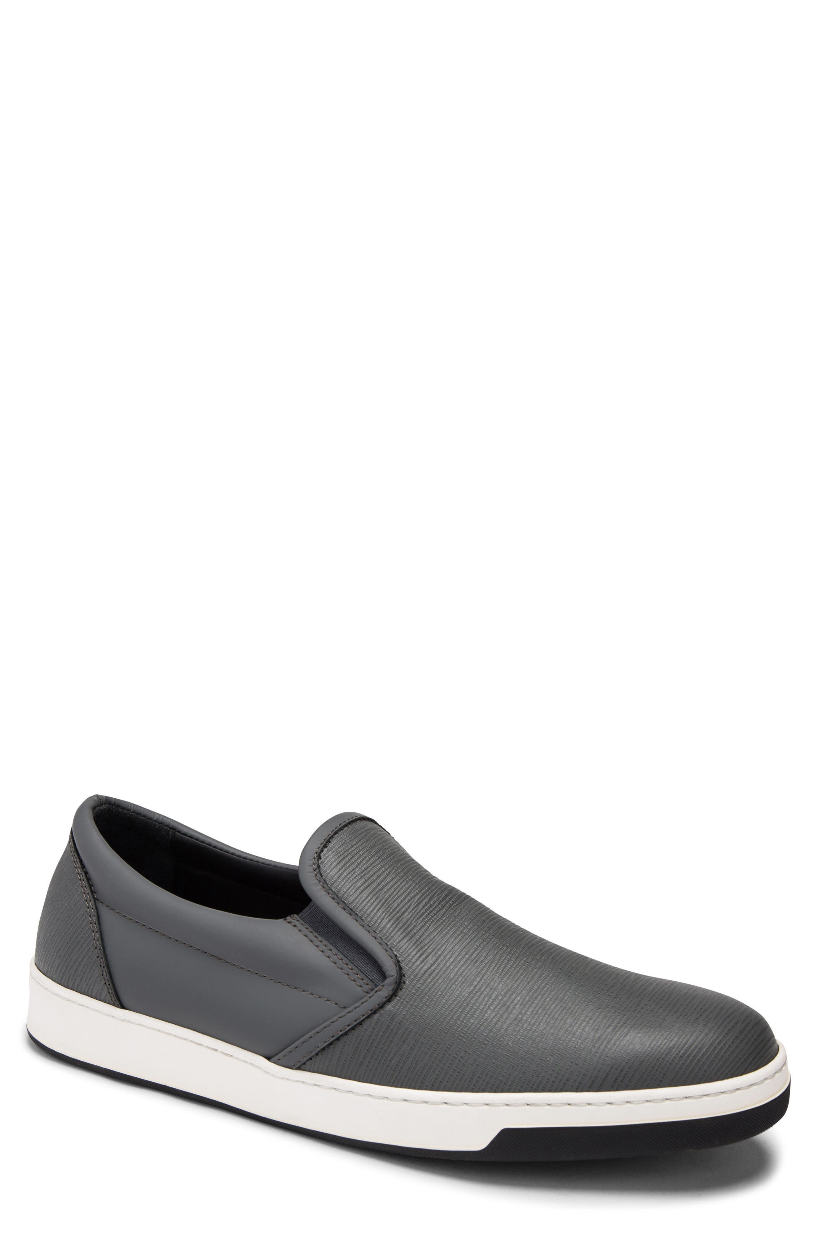 Santorini Slip-On Sneaker,                         Main,                         color, GRAFITE