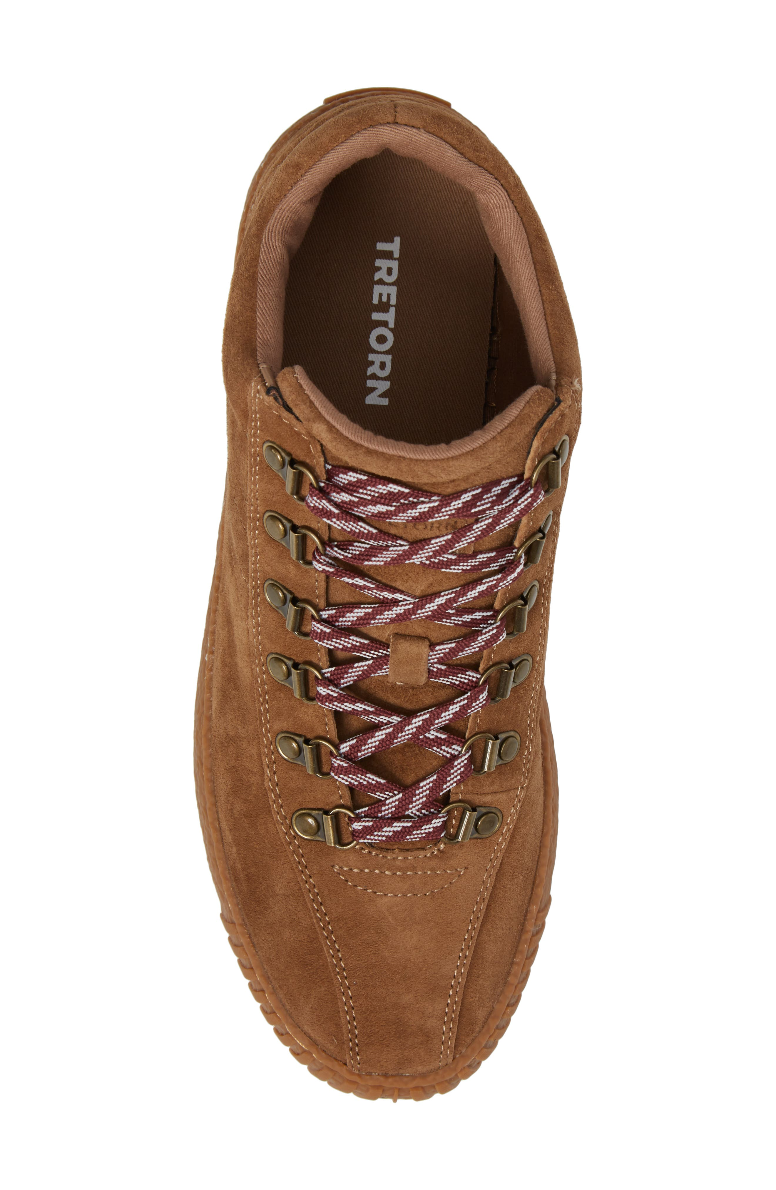 Dante 3 Sneaker,                             Alternate thumbnail 5, color,                             CIGAR NUBUCK