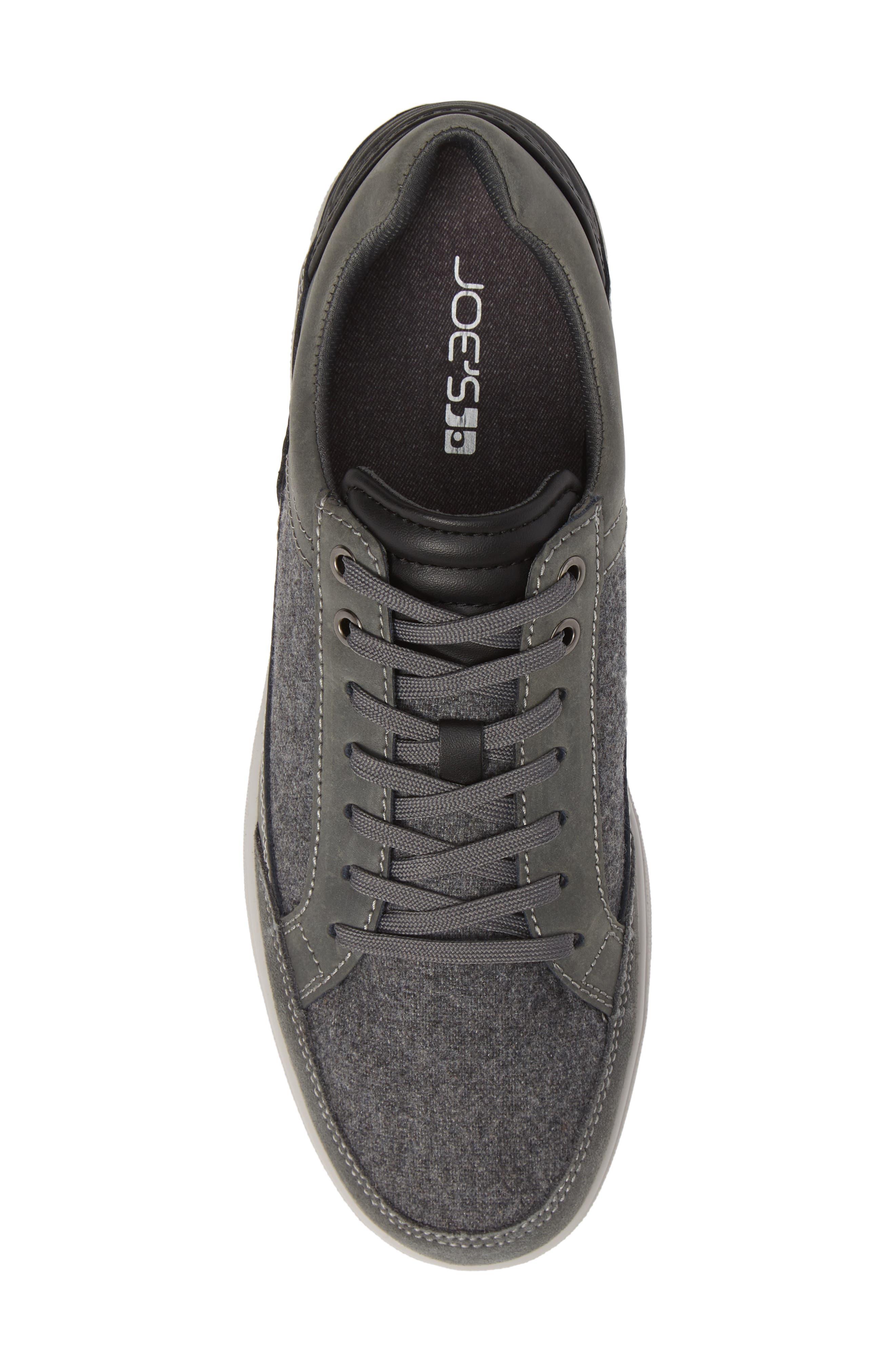 Casual Joe Sneaker,                             Alternate thumbnail 5, color,                             GREY WOOL