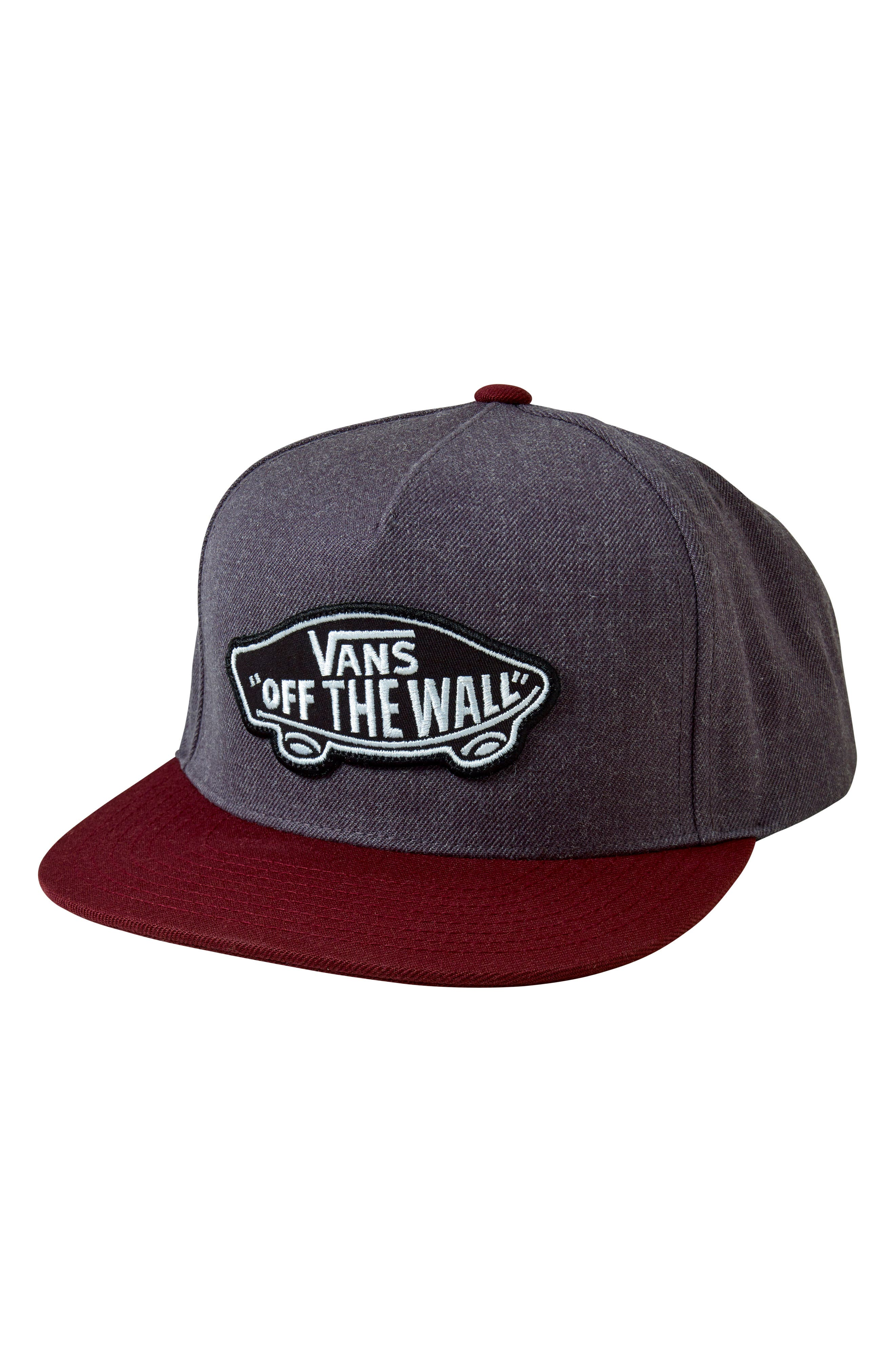 Classic Patch Snapback Hat,                             Main thumbnail 1, color,                             001