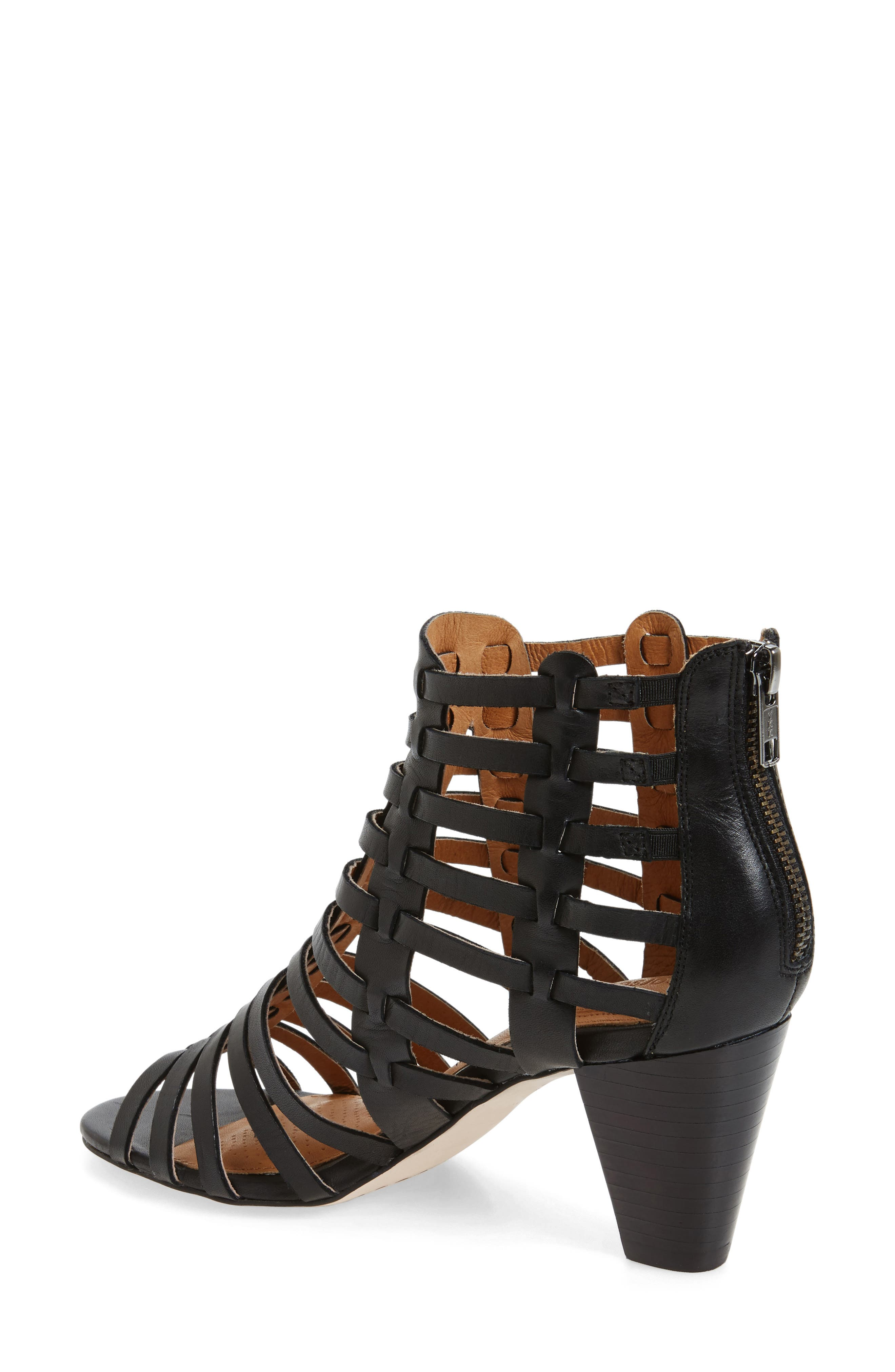 Cour Cage Sandal,                             Alternate thumbnail 2, color,                             001