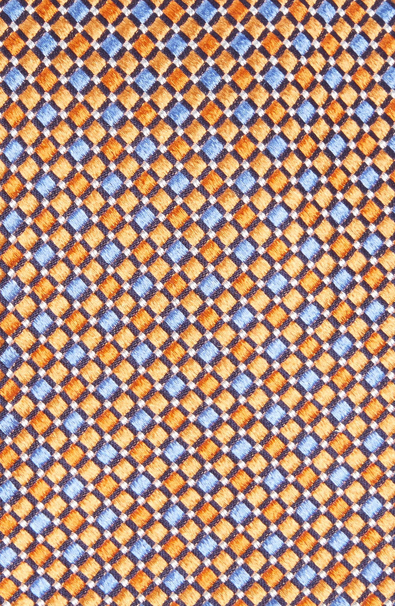 Geo Pattern Silk Tie,                             Alternate thumbnail 22, color,