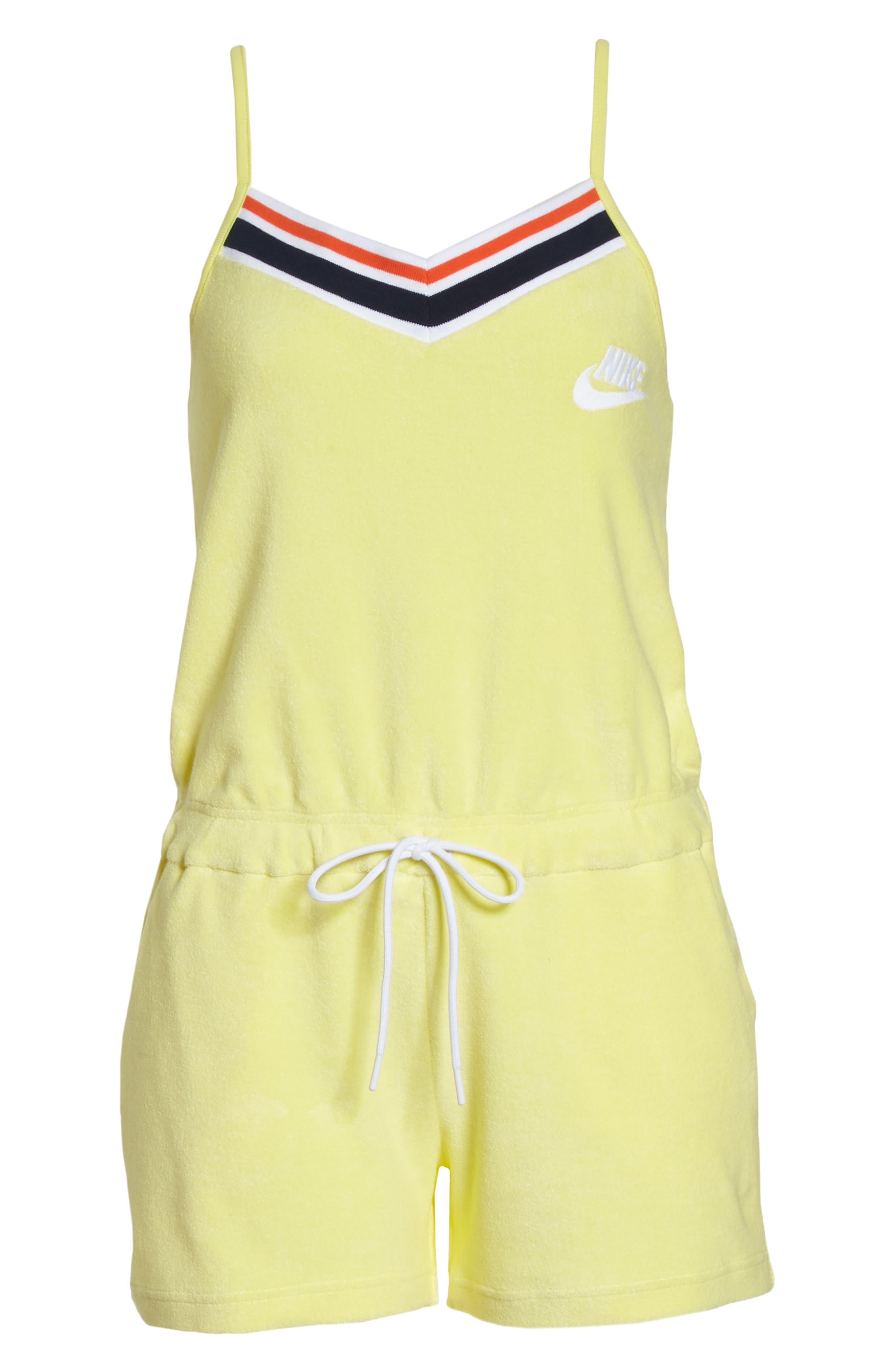 Sportswear Terry Romper,                             Alternate thumbnail 18, color,