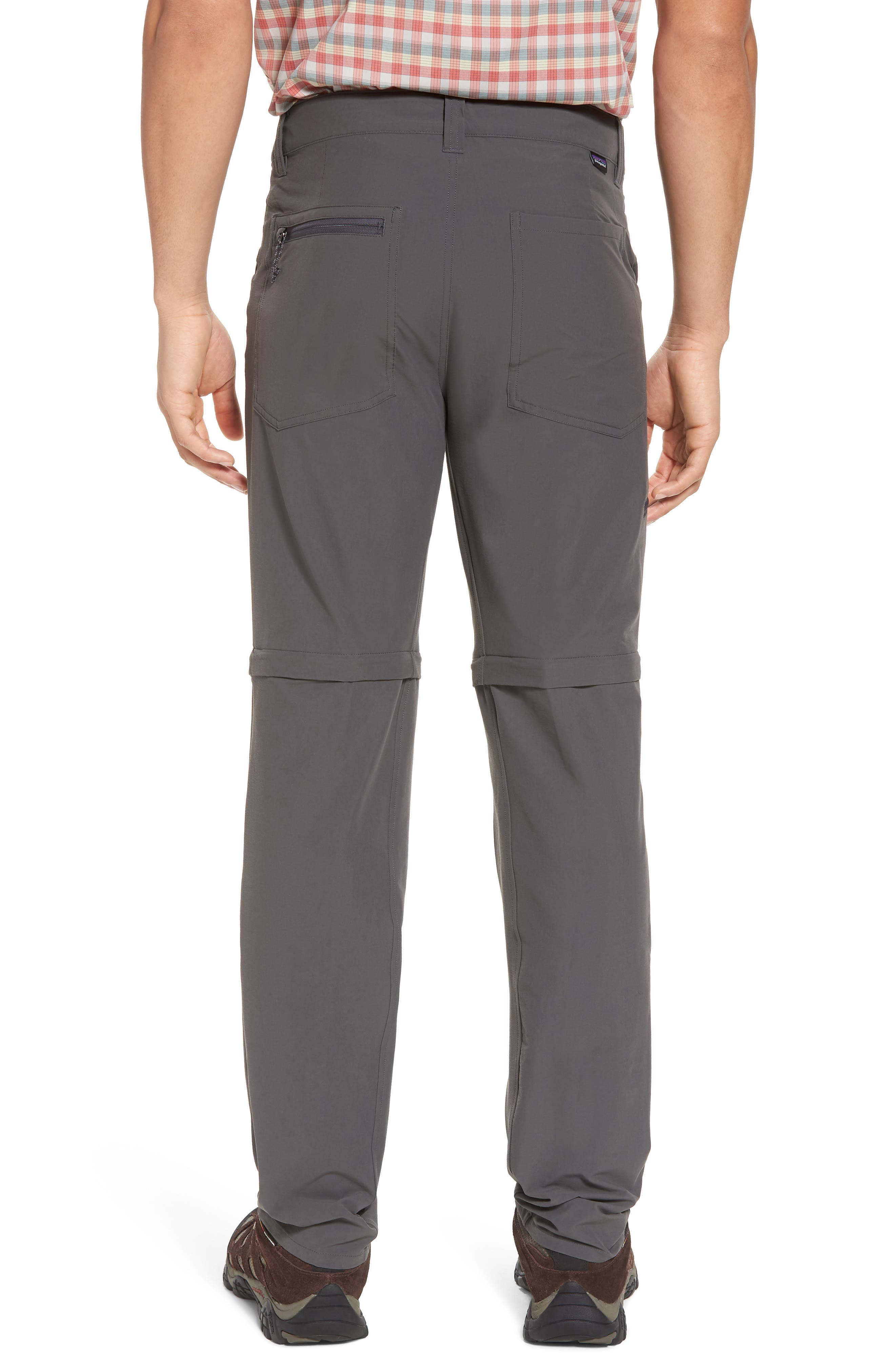 M's Quandry Convertible Pants,                             Alternate thumbnail 2, color,                             FORGE GREY
