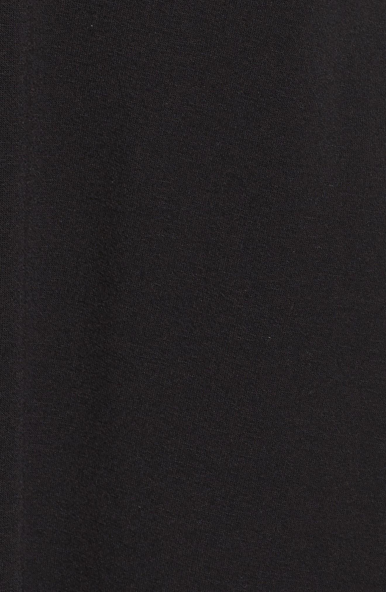 Slit Duster,                             Alternate thumbnail 6, color,                             BLACK