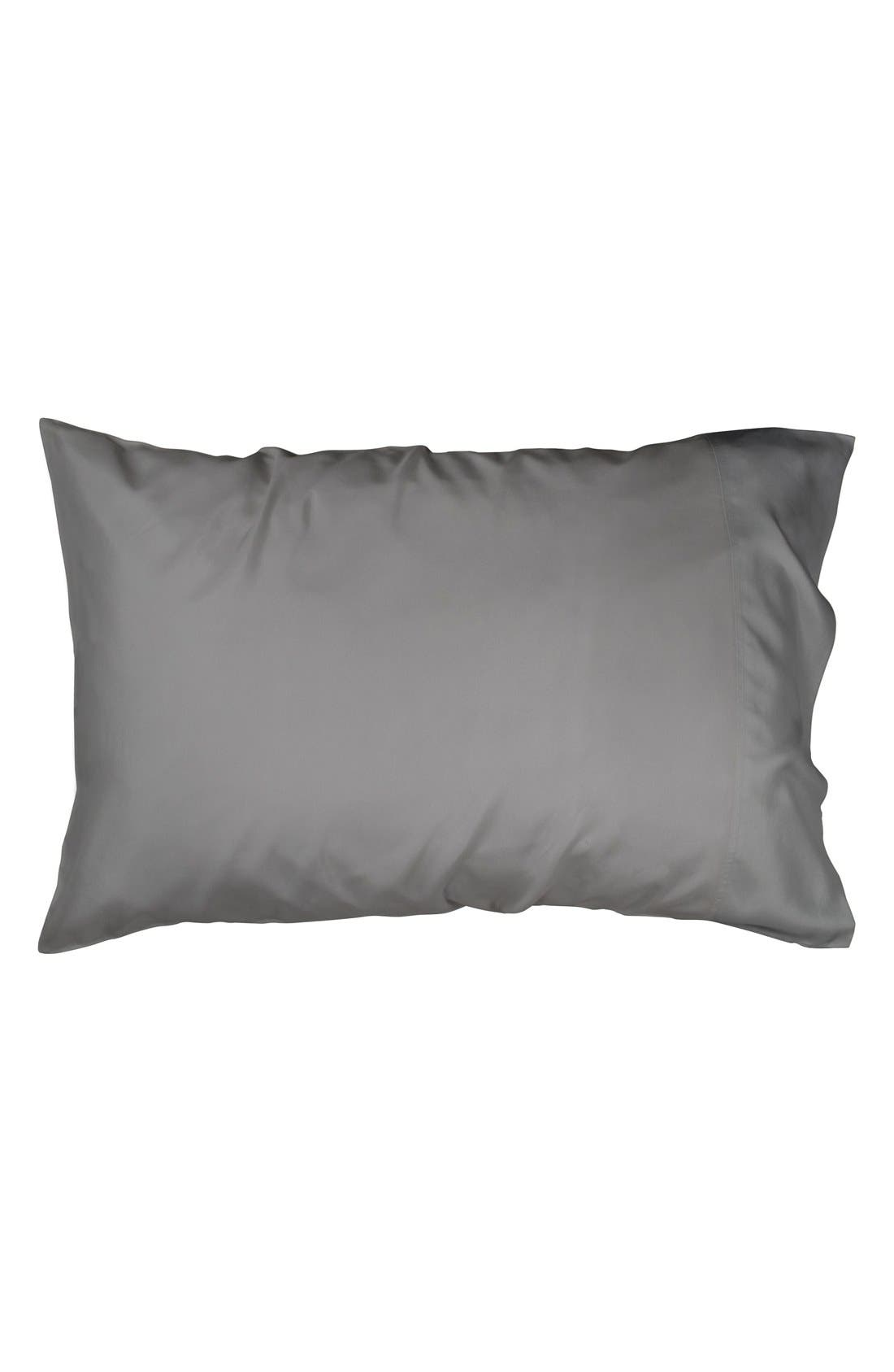 Donna Karan Collection 'Silk Essentials' Habutai Silk Pillowcase,                             Alternate thumbnail 3, color,                             020