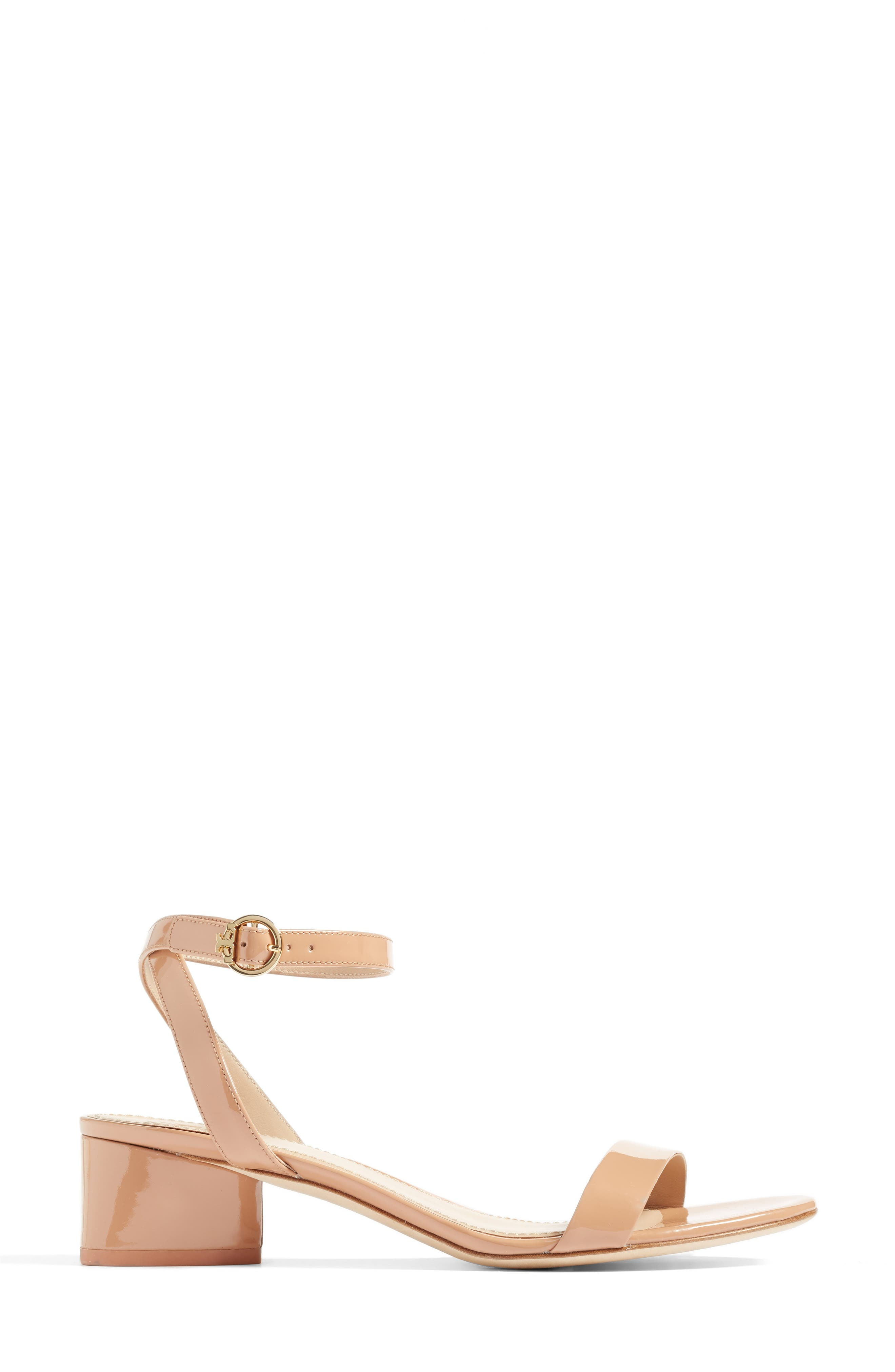 Elizabeth Block Heel Sandal,                             Alternate thumbnail 8, color,