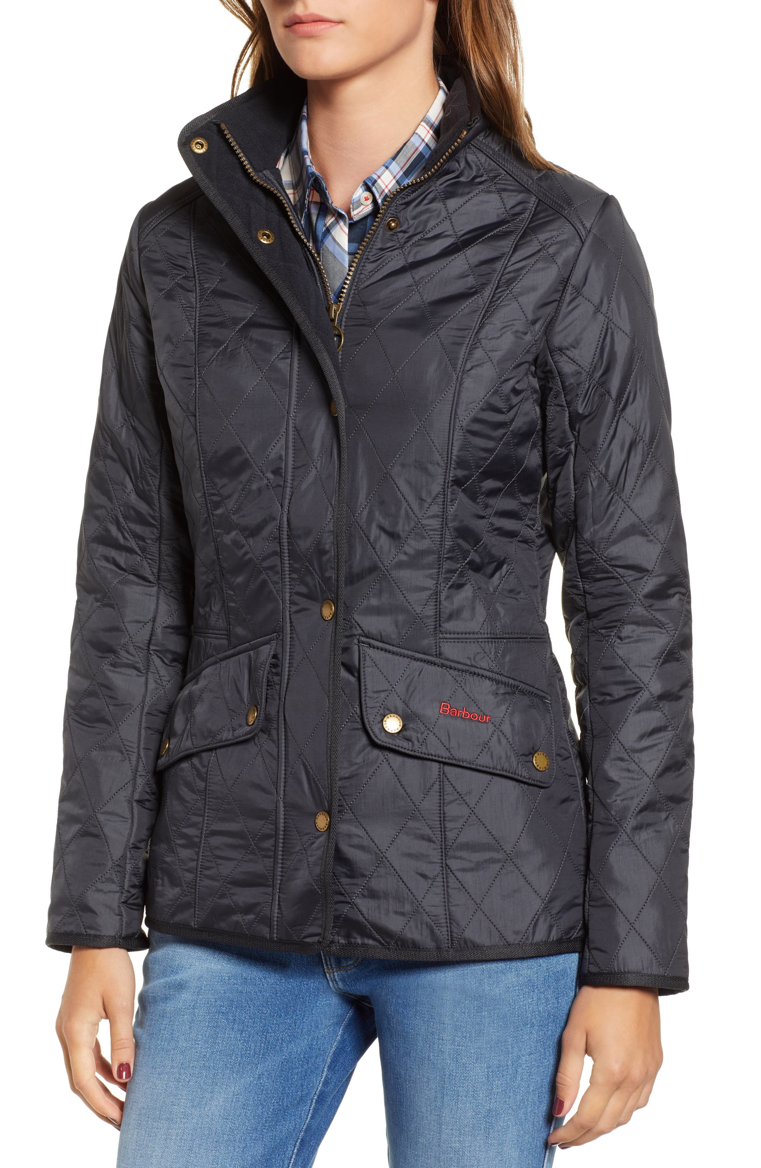 'Cavalry' Quilted Jacket,                             Alternate thumbnail 48, color,