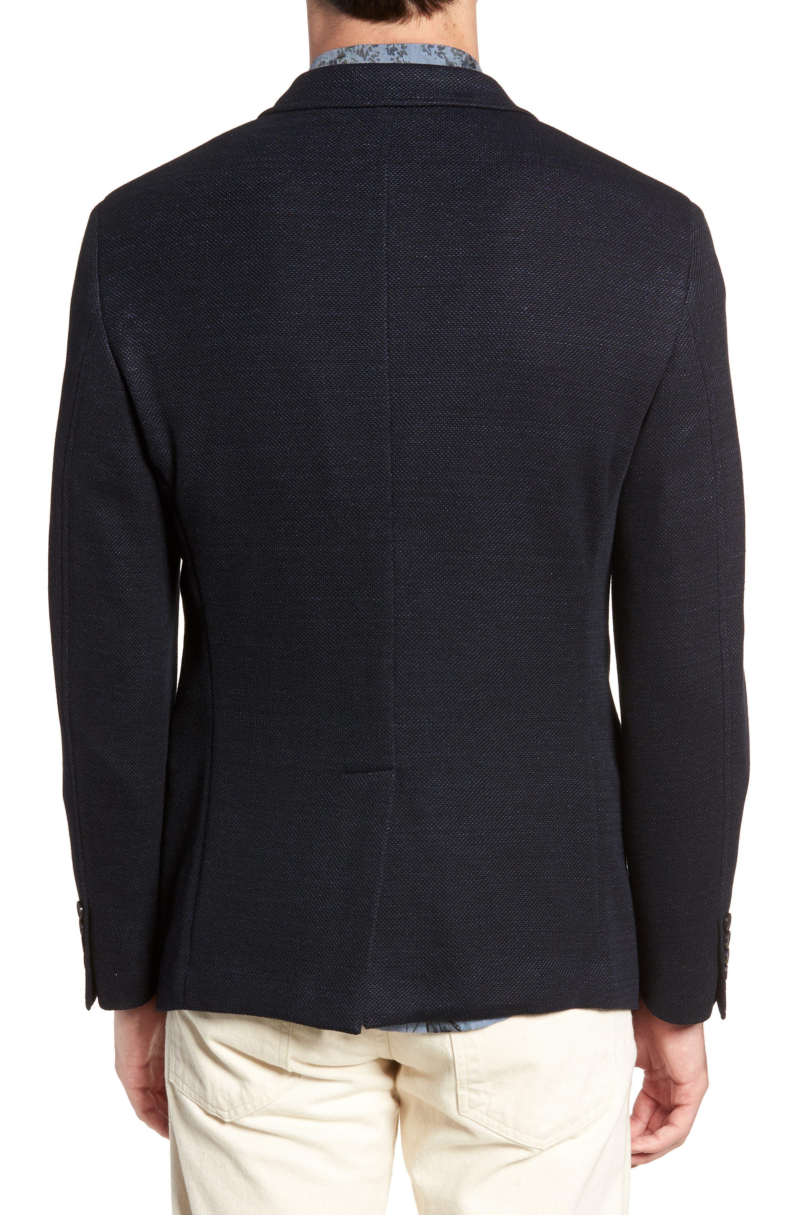 Regular Fit Cotton & Linen Blazer,                             Alternate thumbnail 2, color,                             405