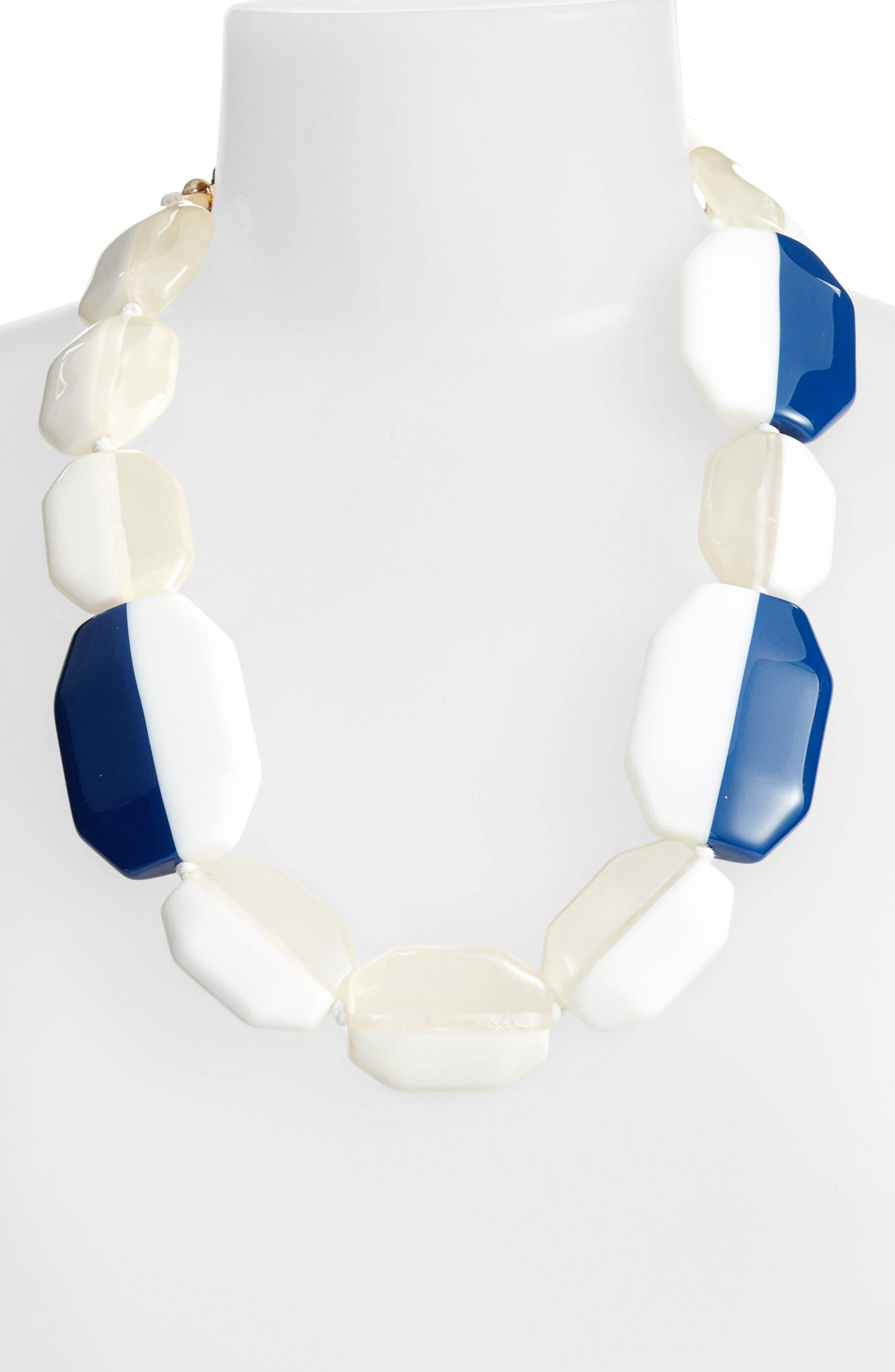 Octagon Necklace,                         Main,                         color, 400