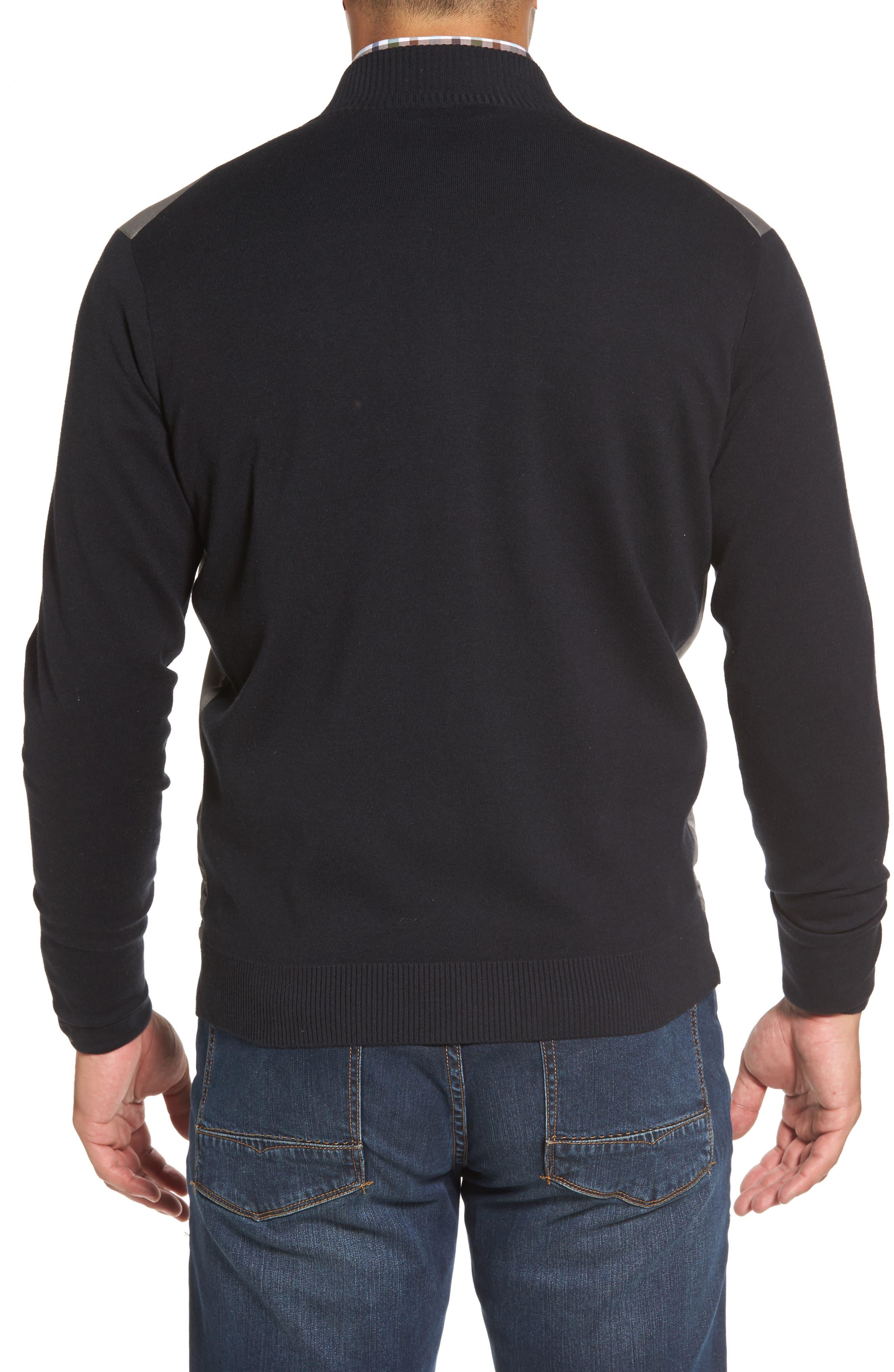 Patterson Zip Hybrid Jacket,                             Alternate thumbnail 2, color,                             001