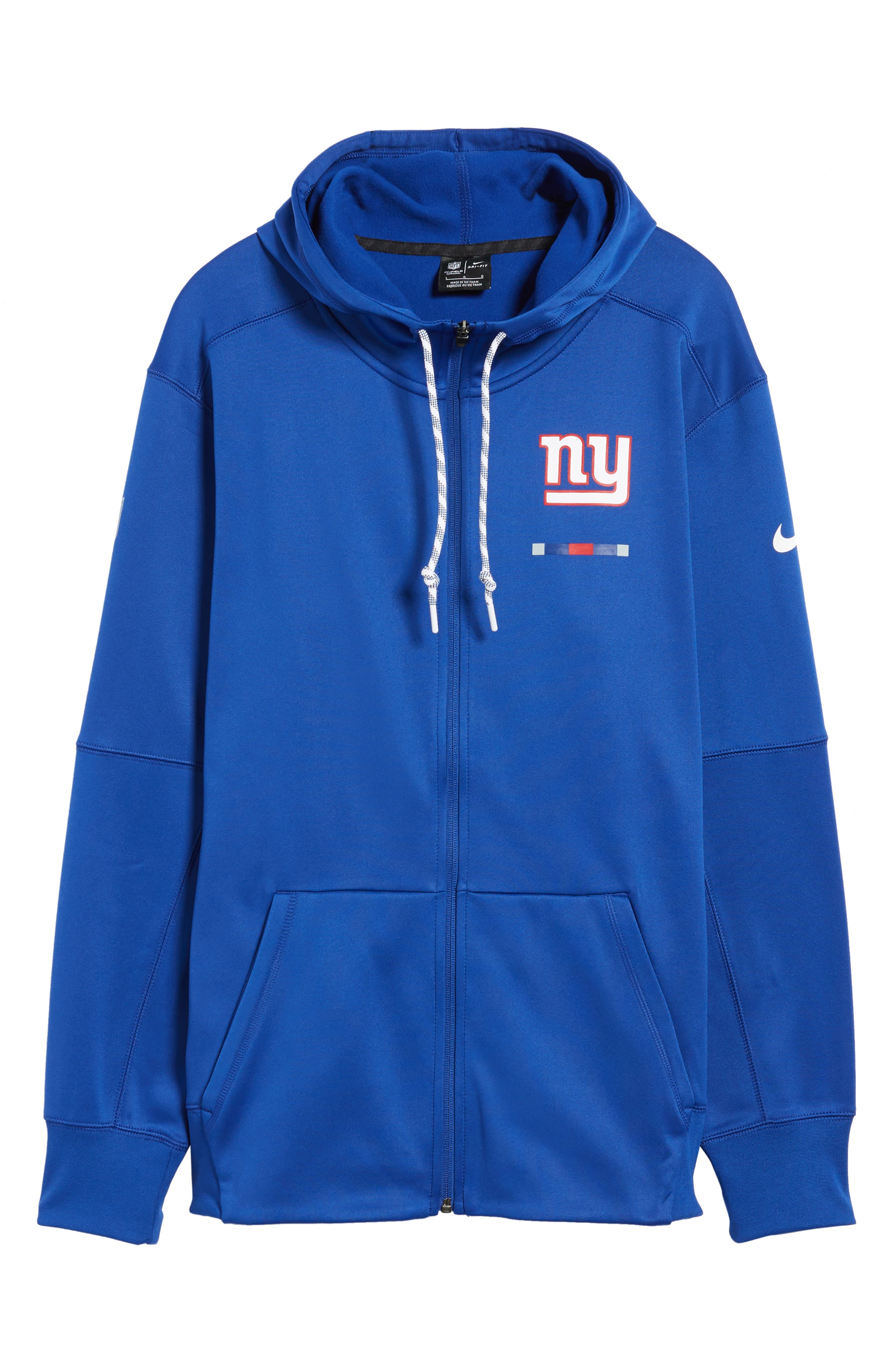 Therma-FIT NFL Graphic Zip Hoodie,                             Alternate thumbnail 37, color,
