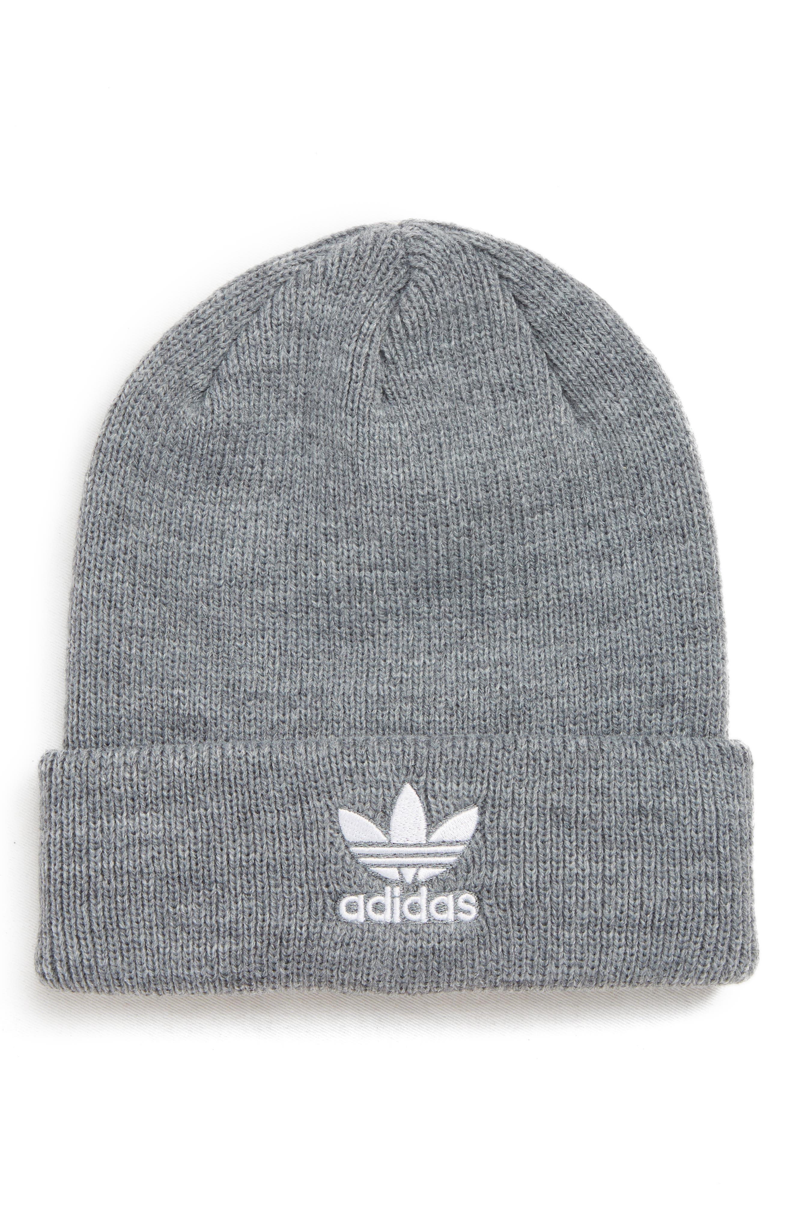 Girls Adidas Embroidered Trefoil Beanie