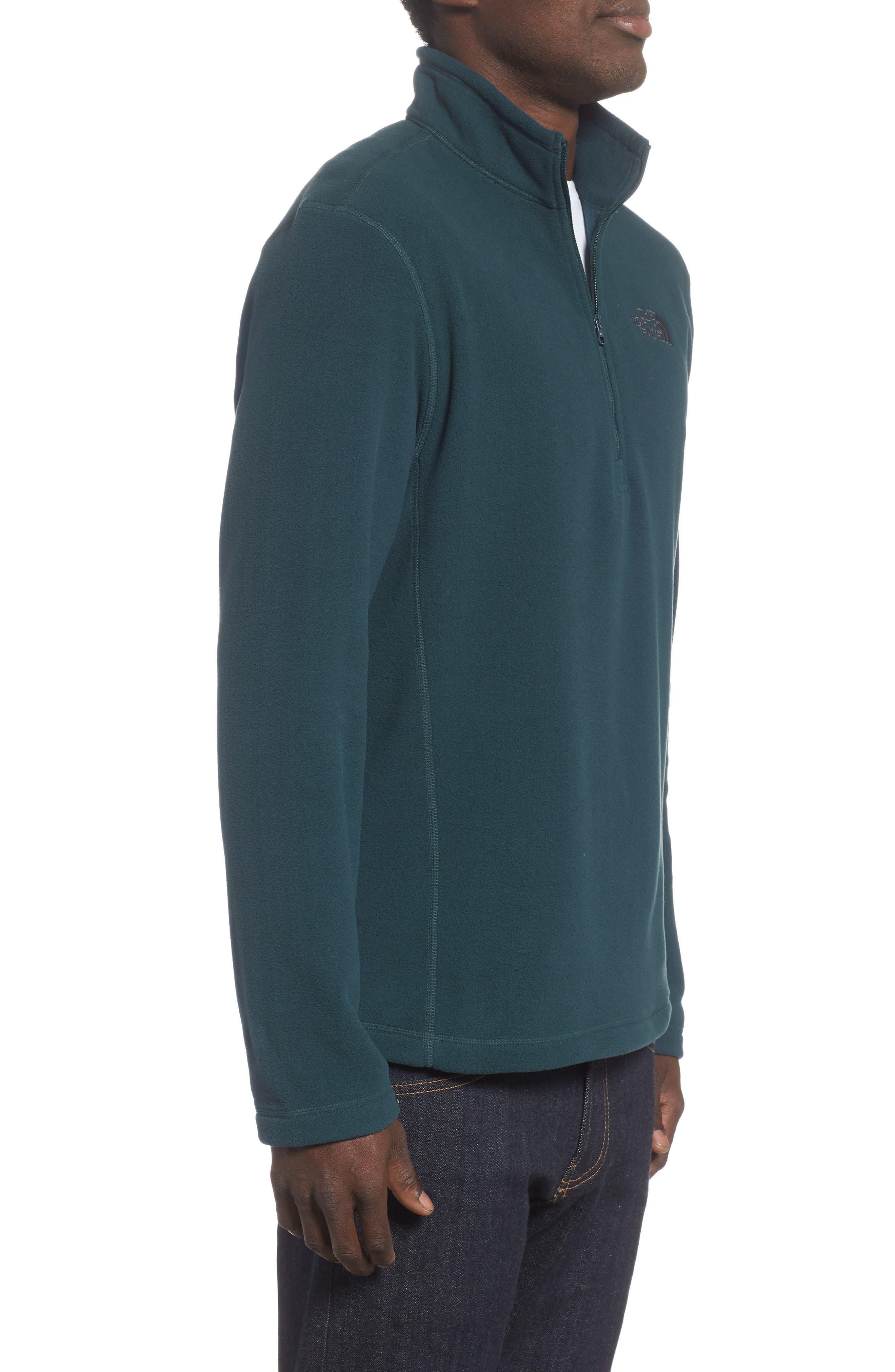'TKA 100 Glacier' Quarter Zip Fleece Pullover,                             Alternate thumbnail 100, color,