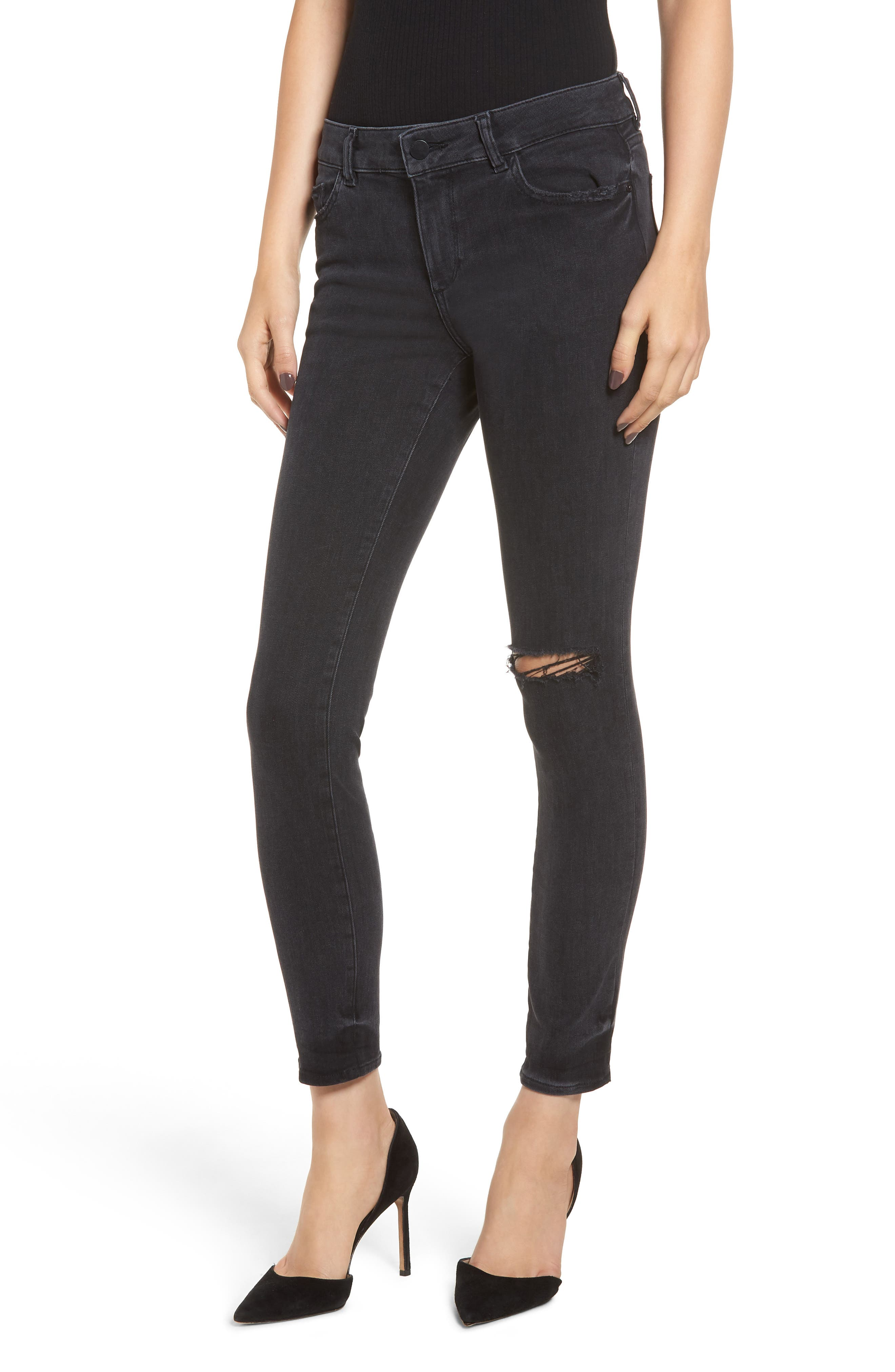 Margaux Instasculpt Ankle Skinny Jeans,                             Main thumbnail 1, color,                             HYDE