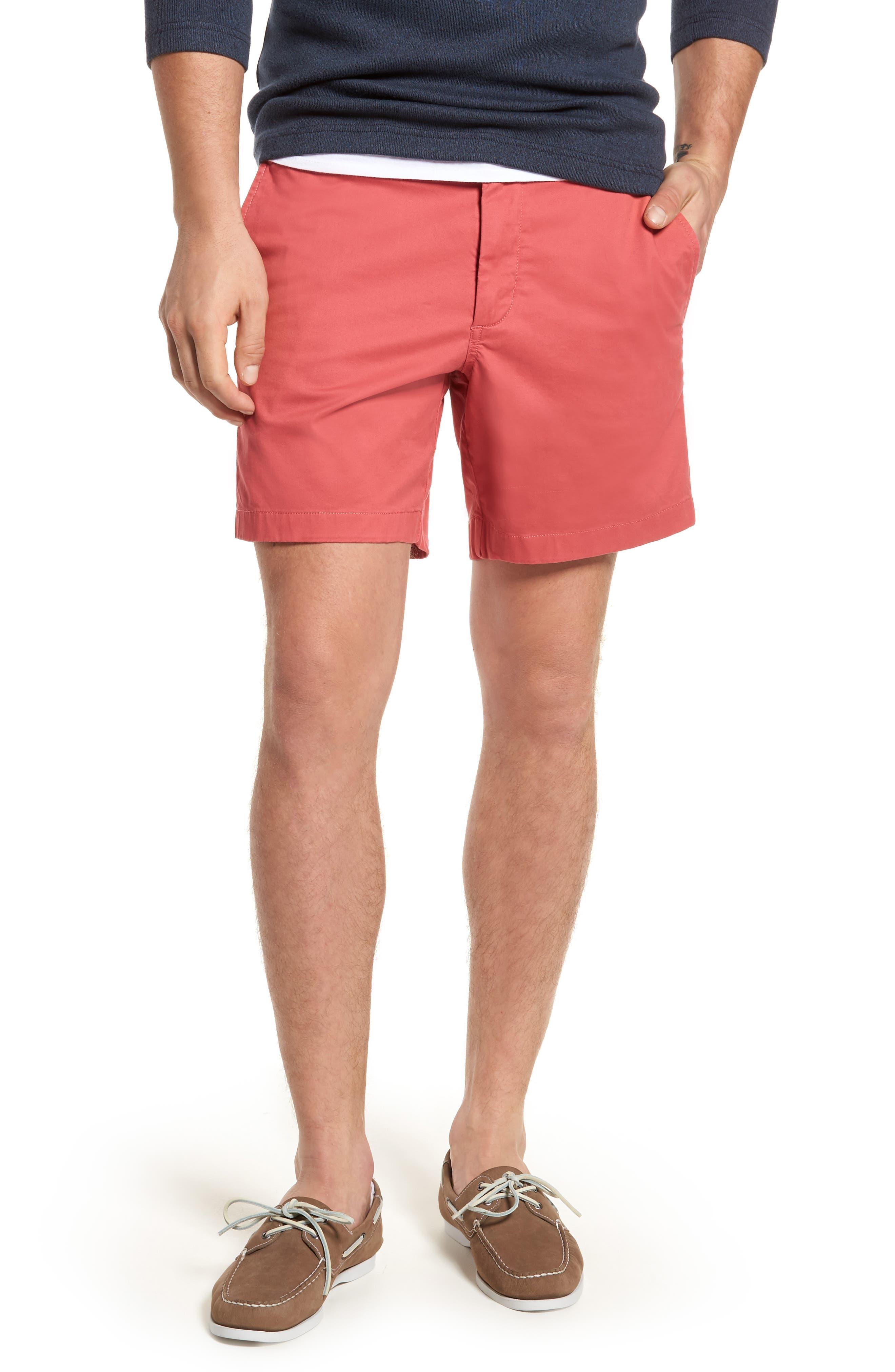 Ballard Slim Fit Stretch Chino 7-Inch Shorts,                             Main thumbnail 11, color,