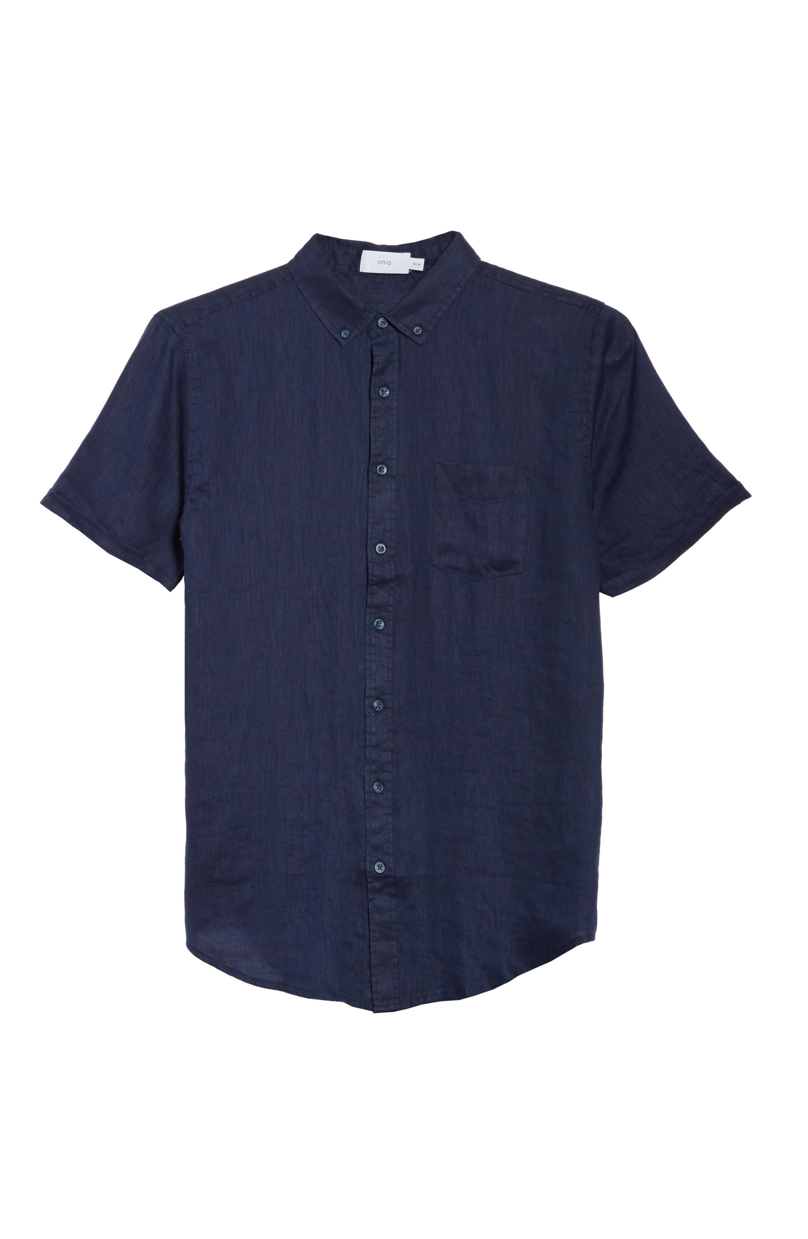 Jack Linen Sport Shirt,                             Alternate thumbnail 6, color,                             419