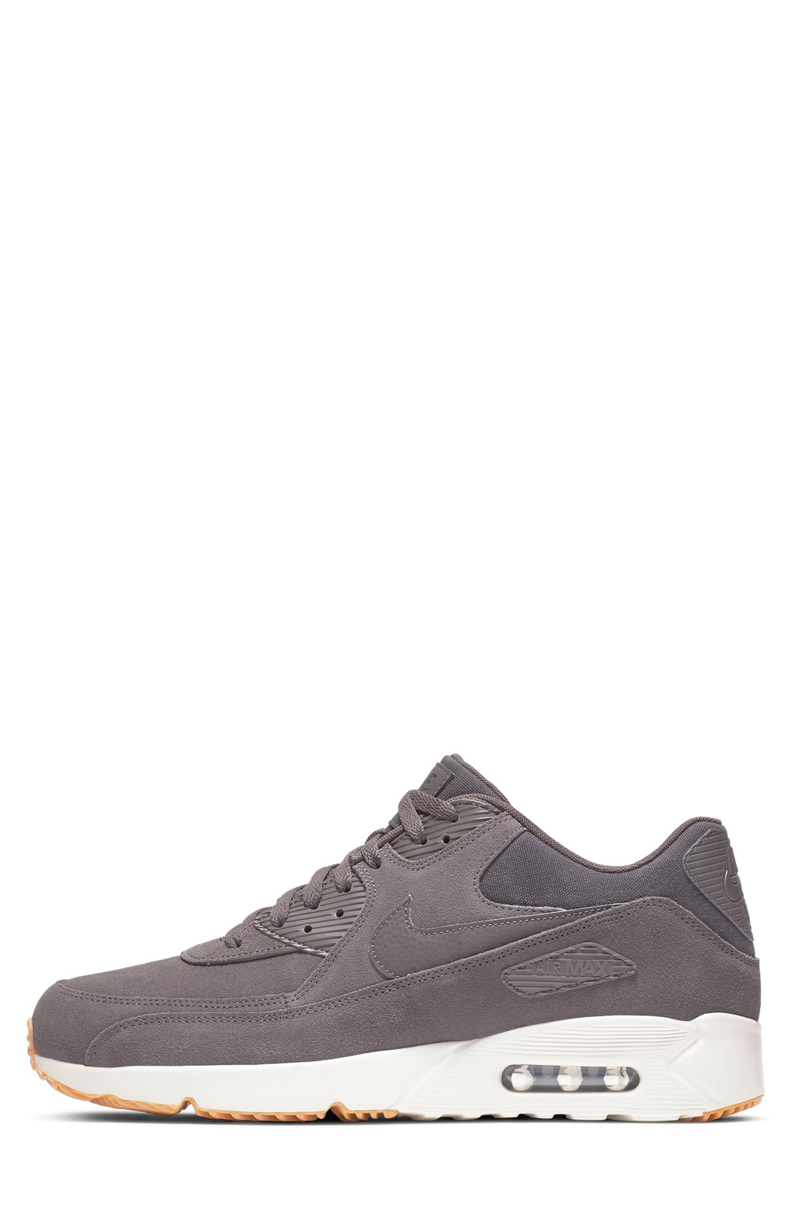 Air Max 90 Ultra 2.0 Sneaker,                             Alternate thumbnail 6, color,                             THUNDER GREY/ GREY/ LIGHT BONE