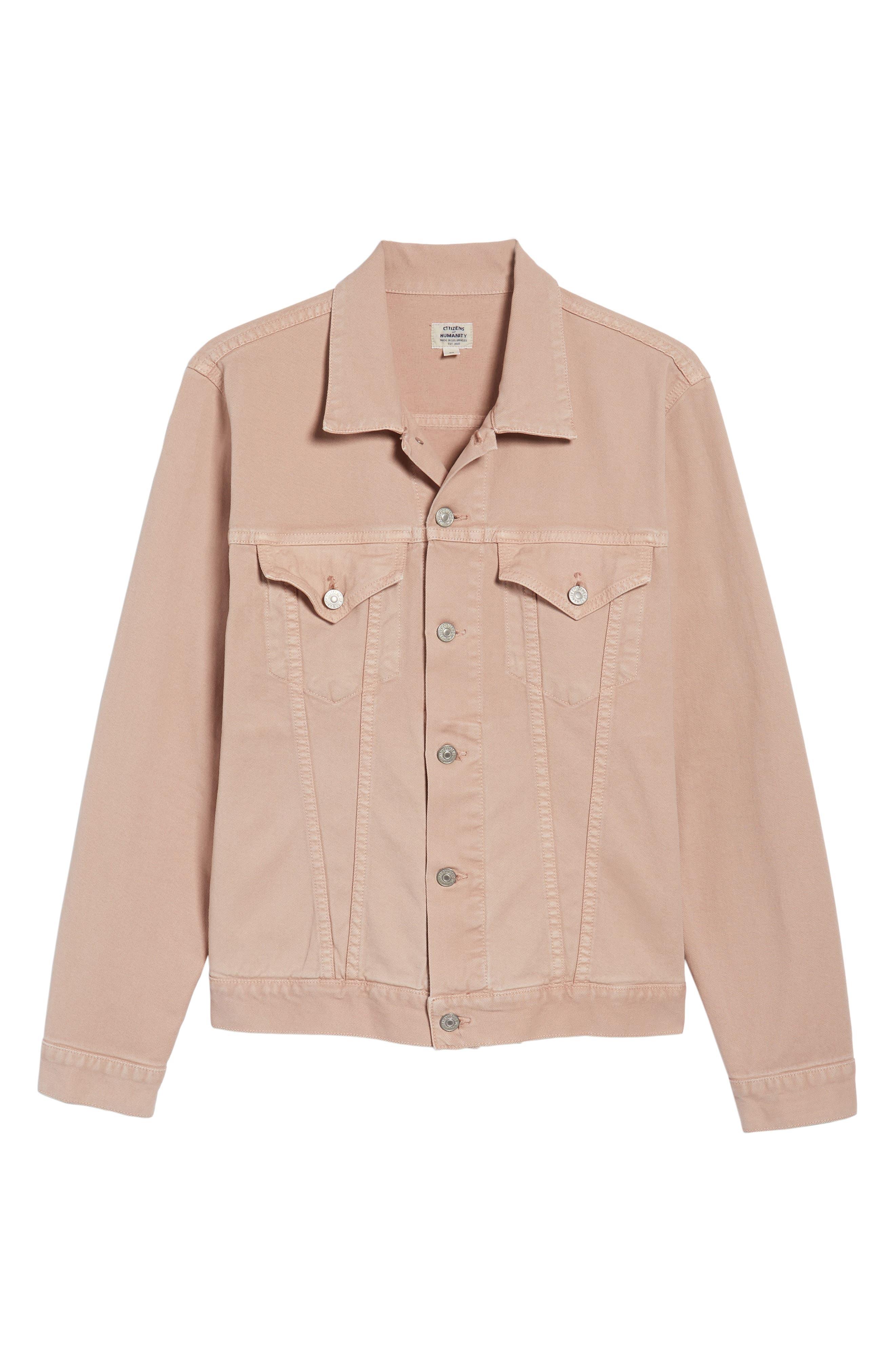 Classic Denim Jacket,                             Alternate thumbnail 5, color,                             250