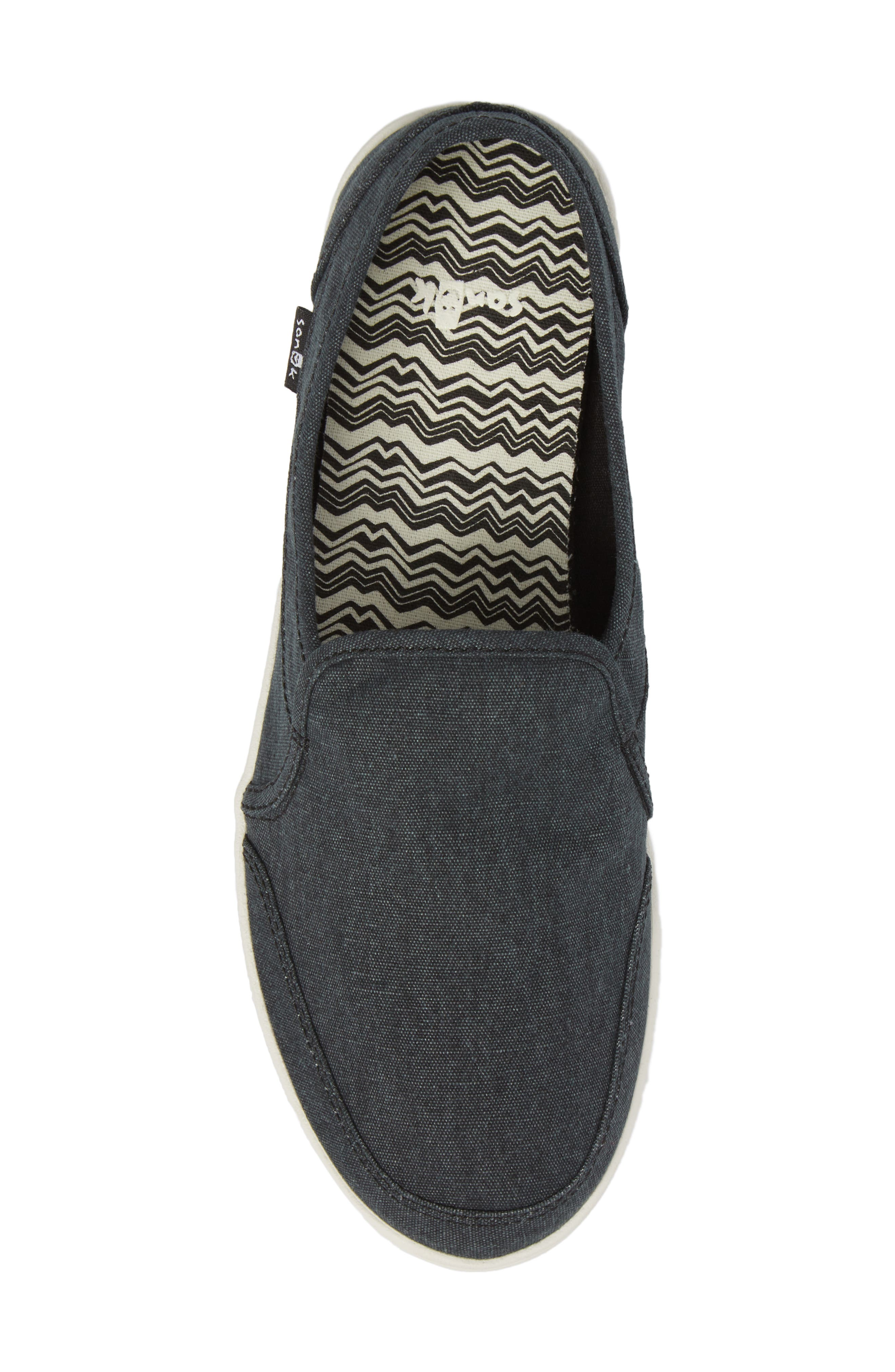 Pair O Dice Slip-On,                             Alternate thumbnail 5, color,                             WASHED BLACK